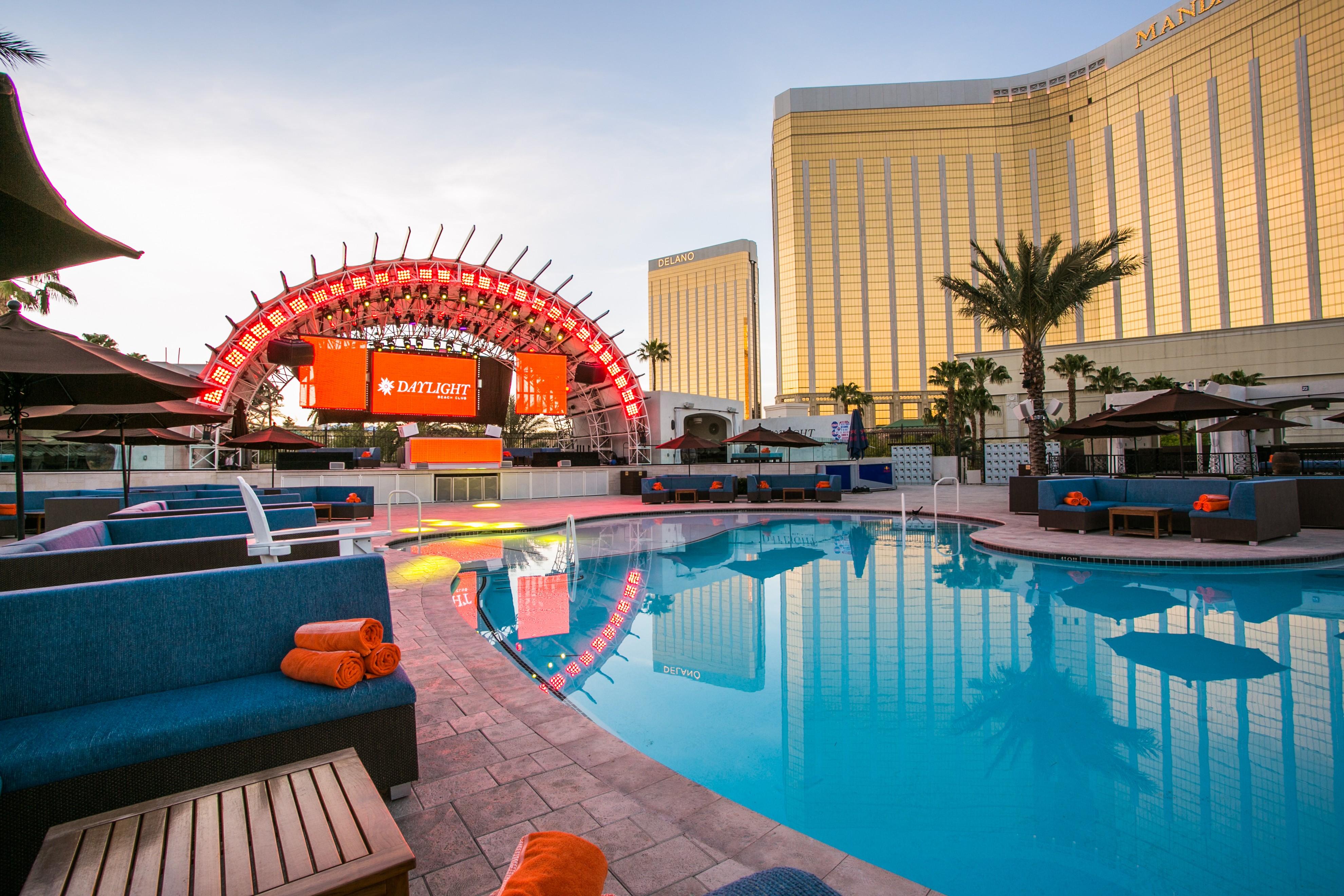 A pool scene