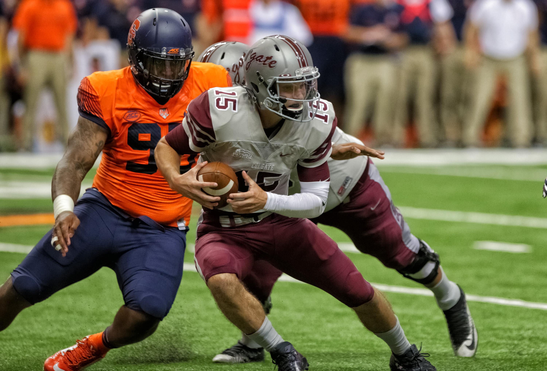 NCAA FOOTBALL: SEP 02 Colgate at Syracuse