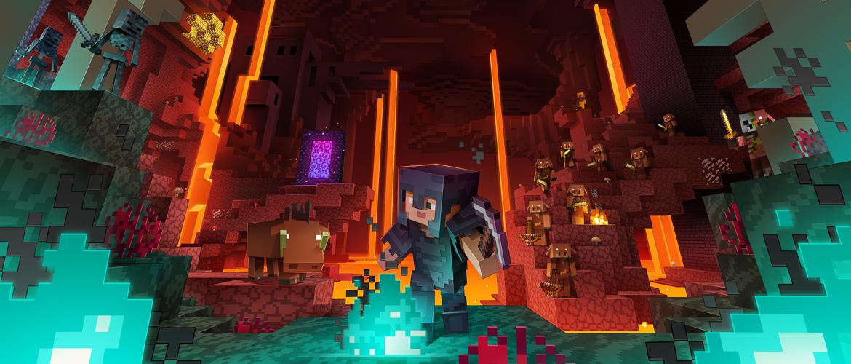Minecraft - the nether update keyart