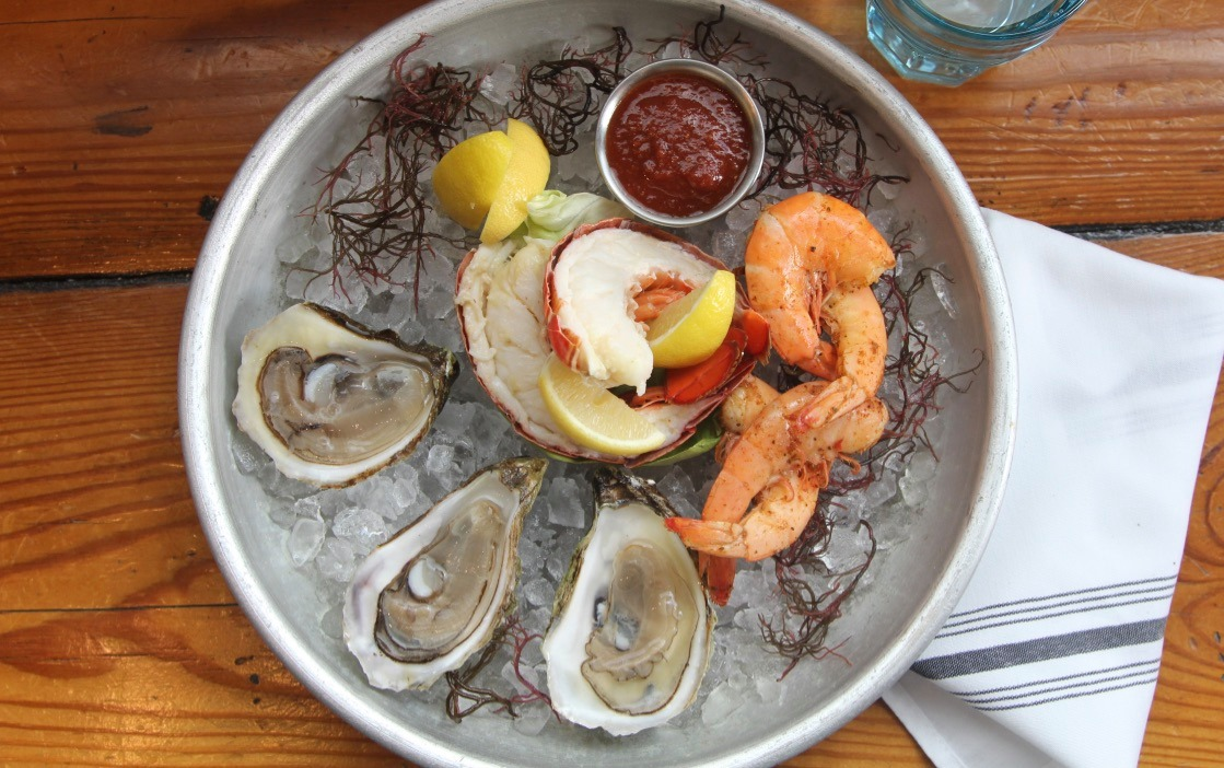 Oysters and peel-and-eat seafood from Mongers