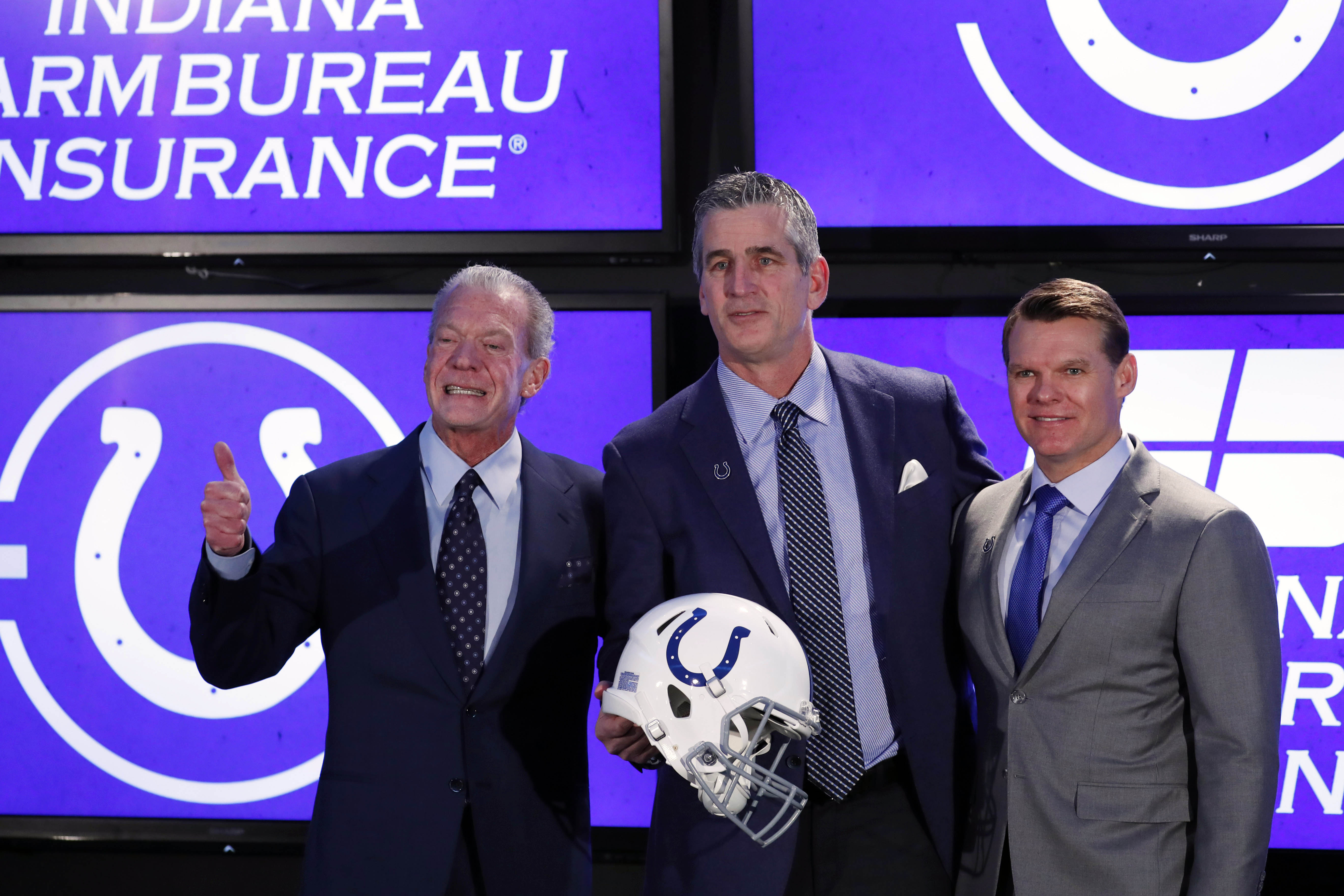 NFL: Indianapolis Colts-Head Coach Frank Reich Press Conference