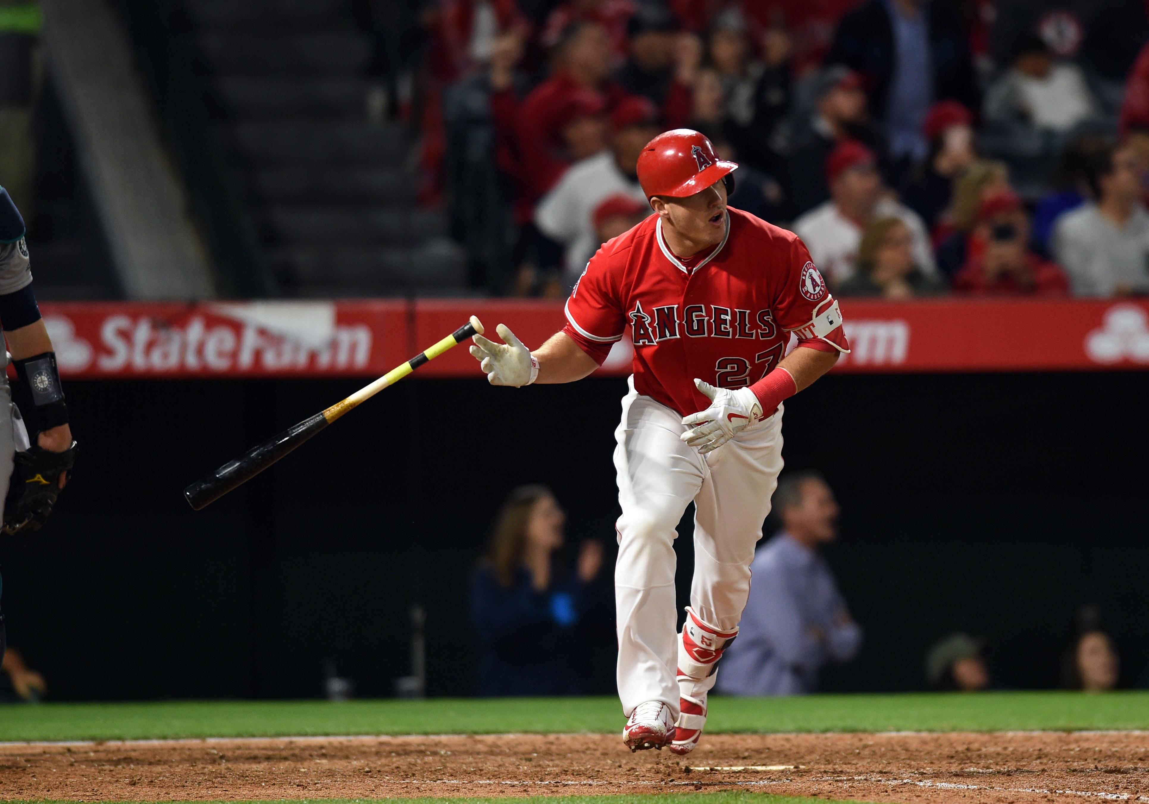 MLB: APR 08 Mariners at Angels