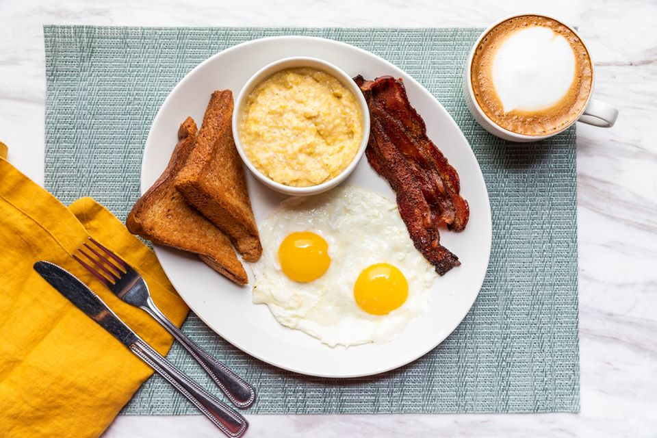 Breakfast at Black Walnut Cafe