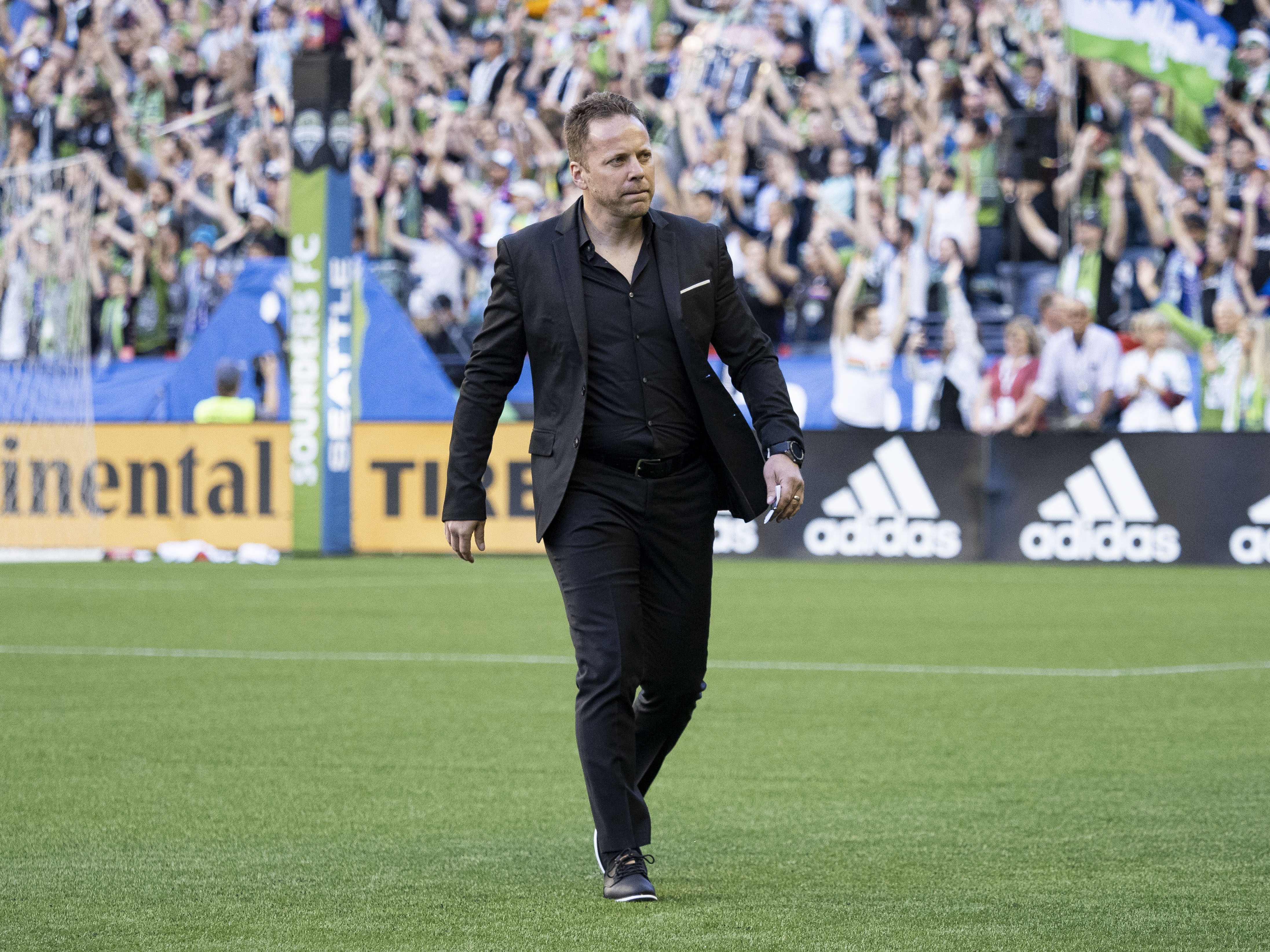SOCCER: JUN 29 MLS - Vancouver Whitecaps at Seattle Sounders FC