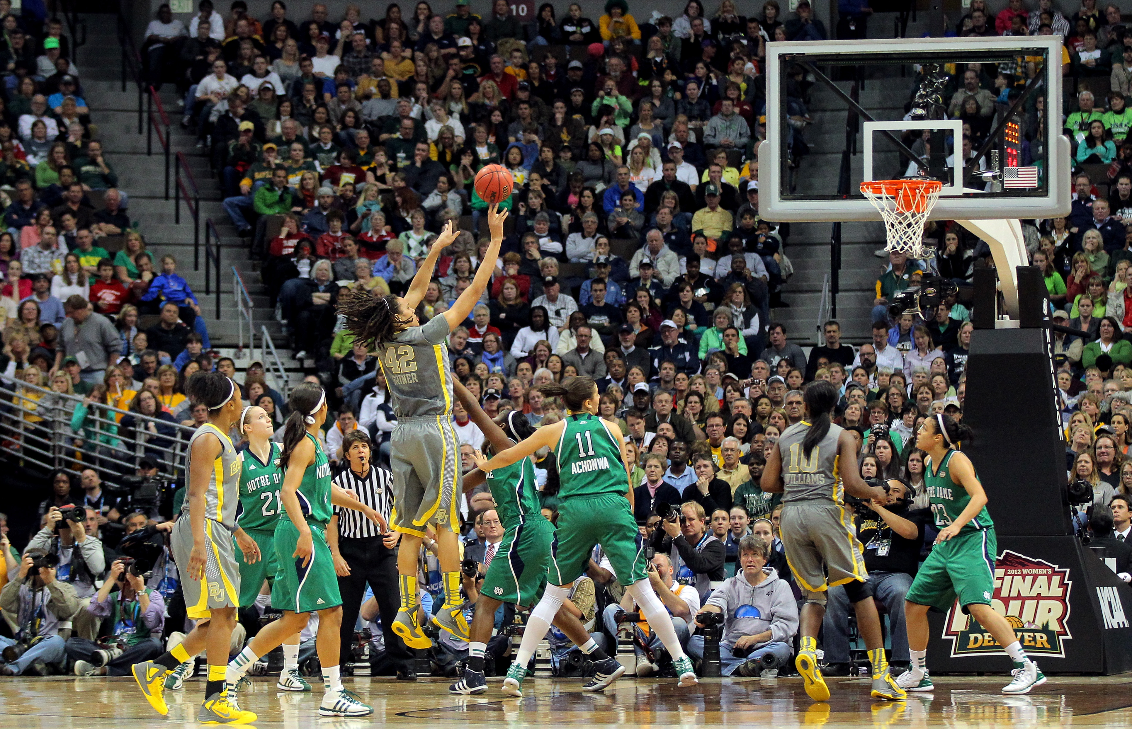 NCAA Women's Championship Game - Notre Dame v Baylor