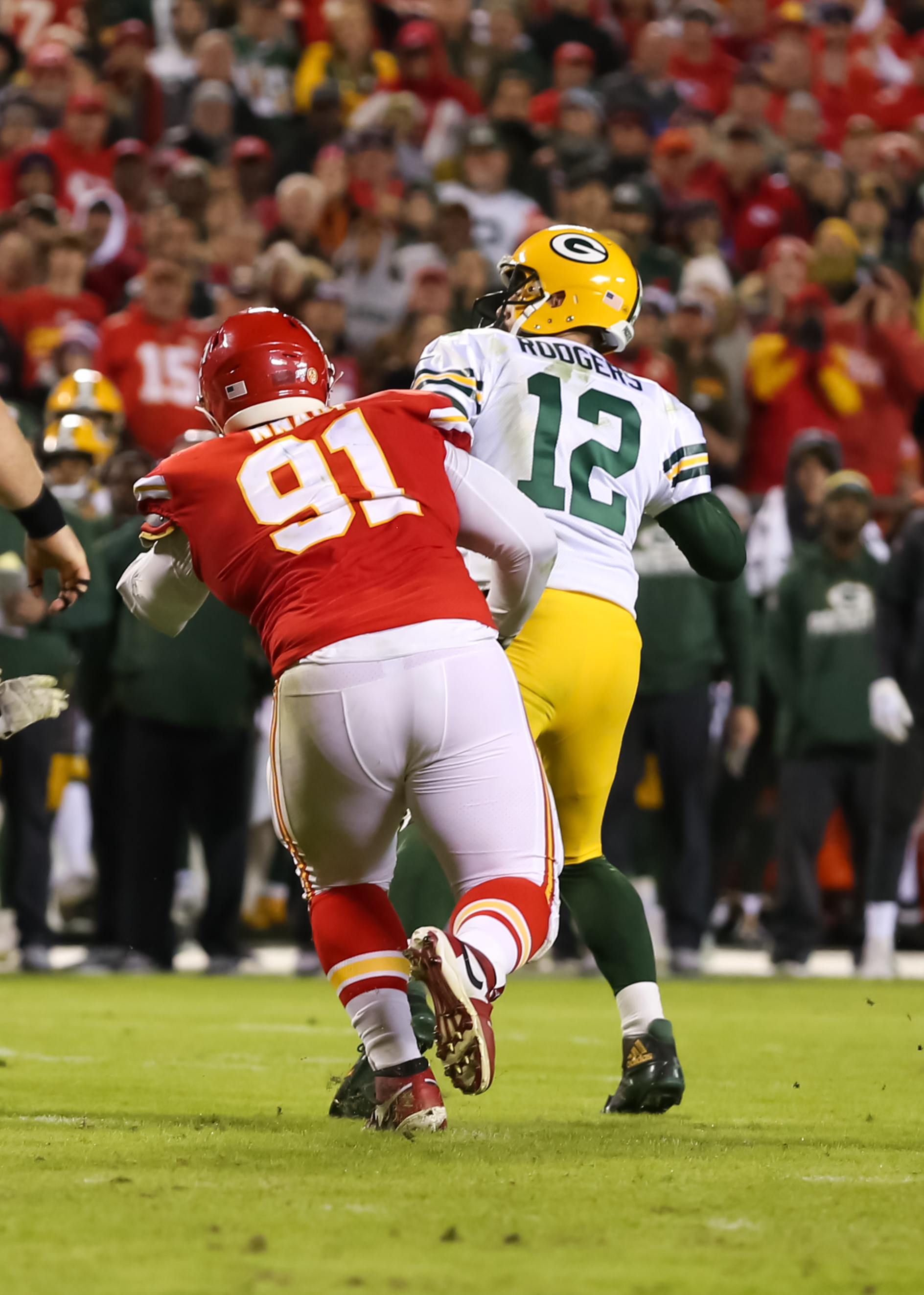 NFL: OCT 27 Packers at Chiefs