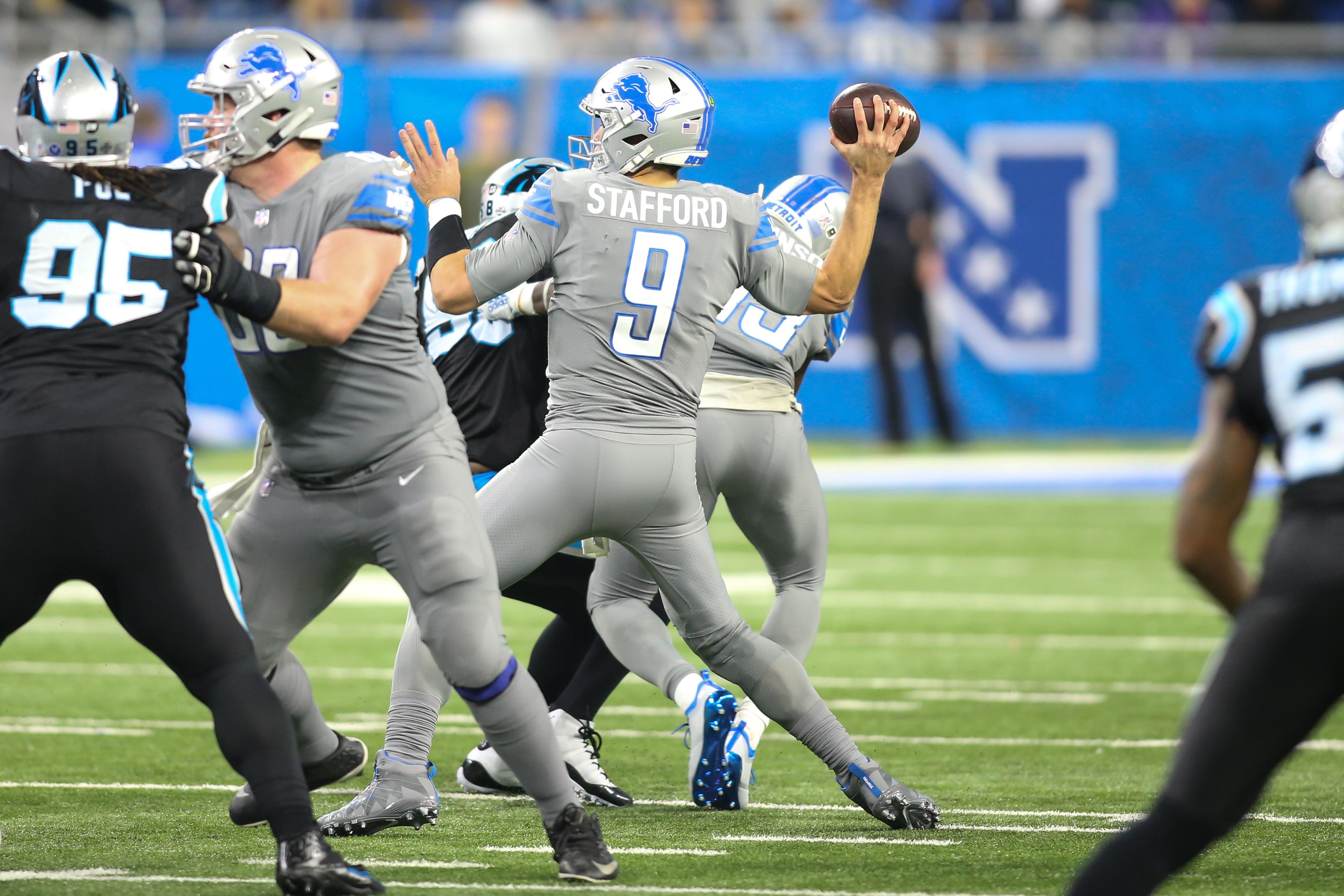 NFL: NOV 18 Panthers at Lions