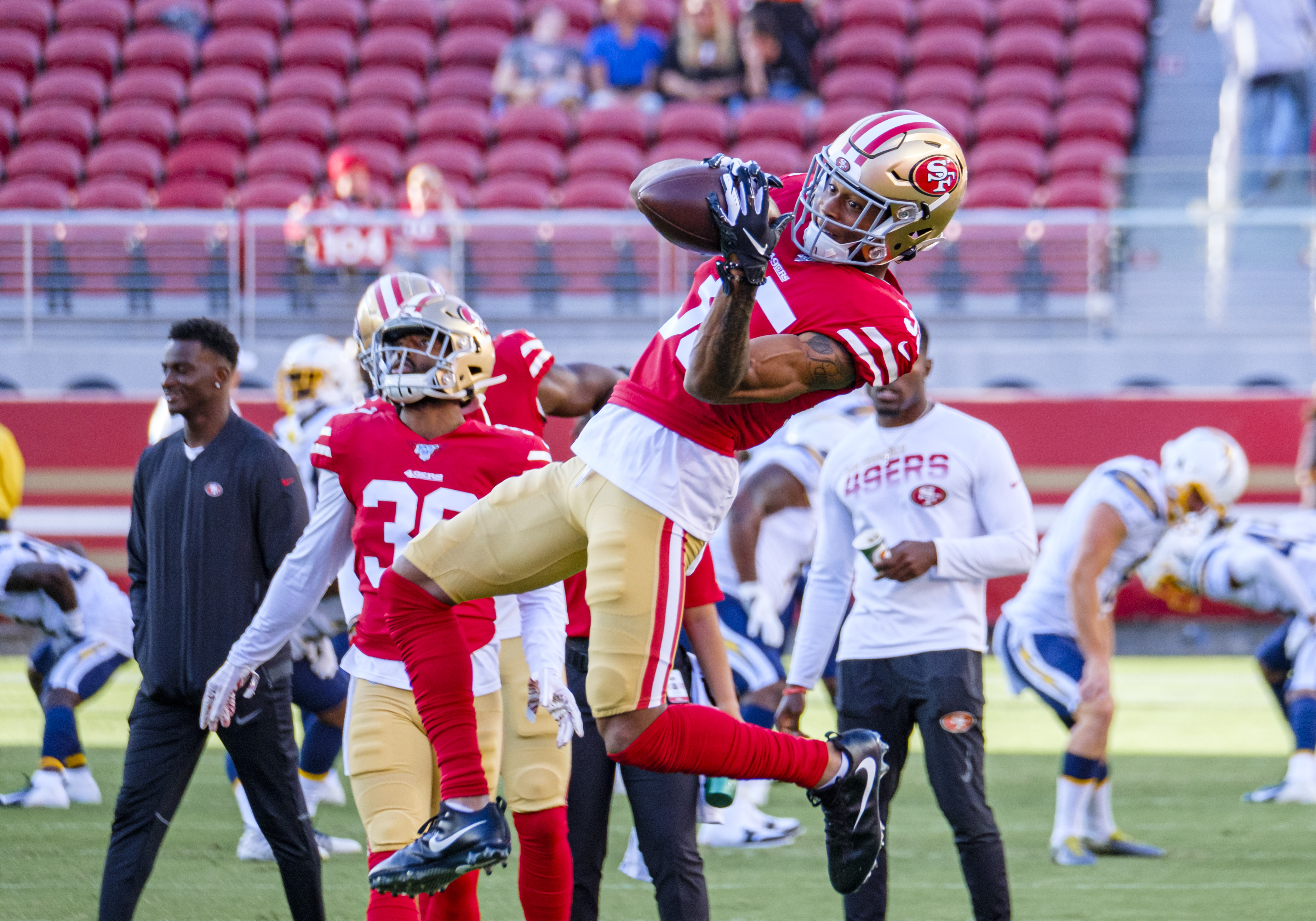 NFL: AUG 29 Preseason - Chargers at 49ers