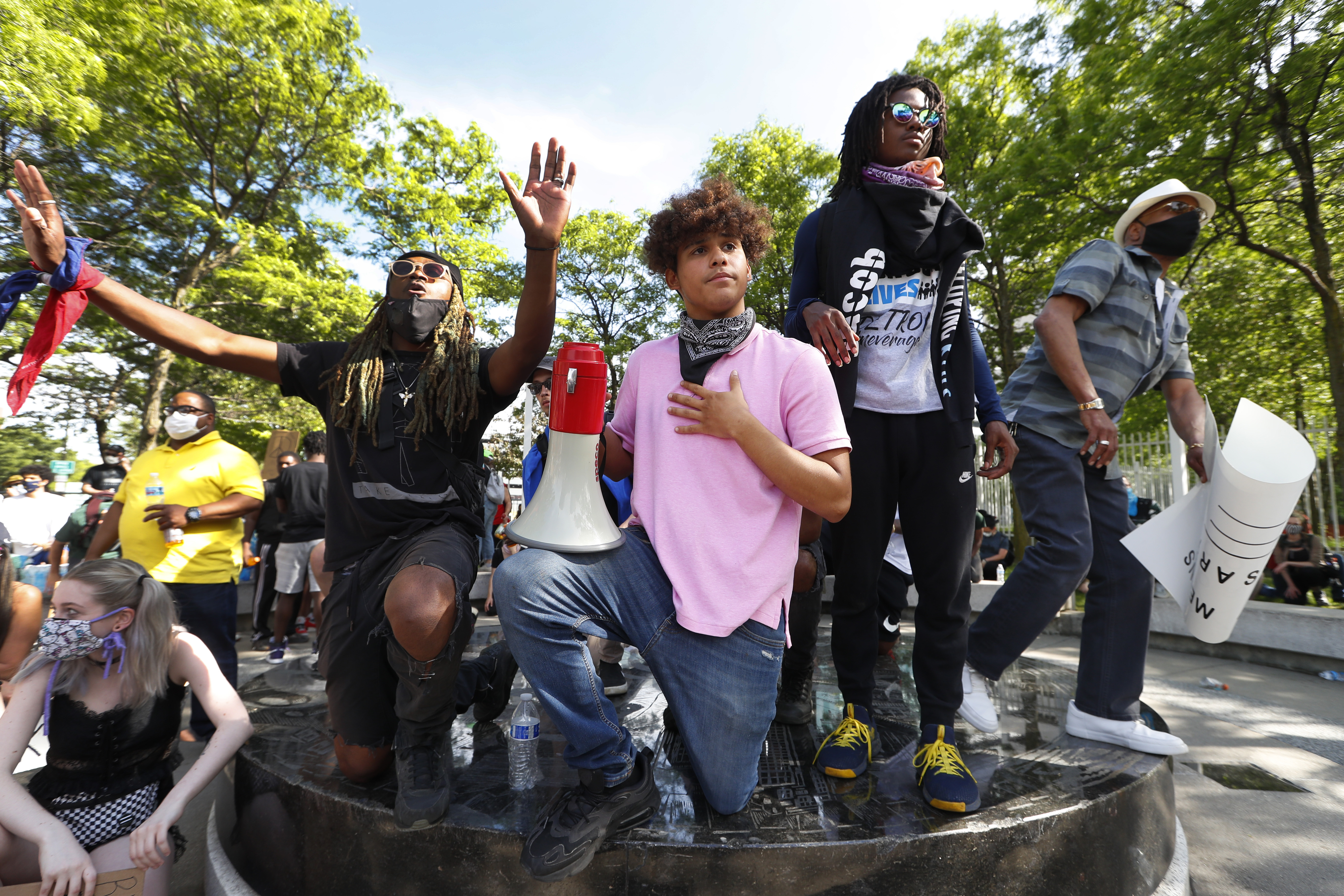 In big cities and small towns, whether liberal or conservative, the new young organizers are taking matters into their own hands and bringing together hundreds or thousands of people to peacefully press for change.