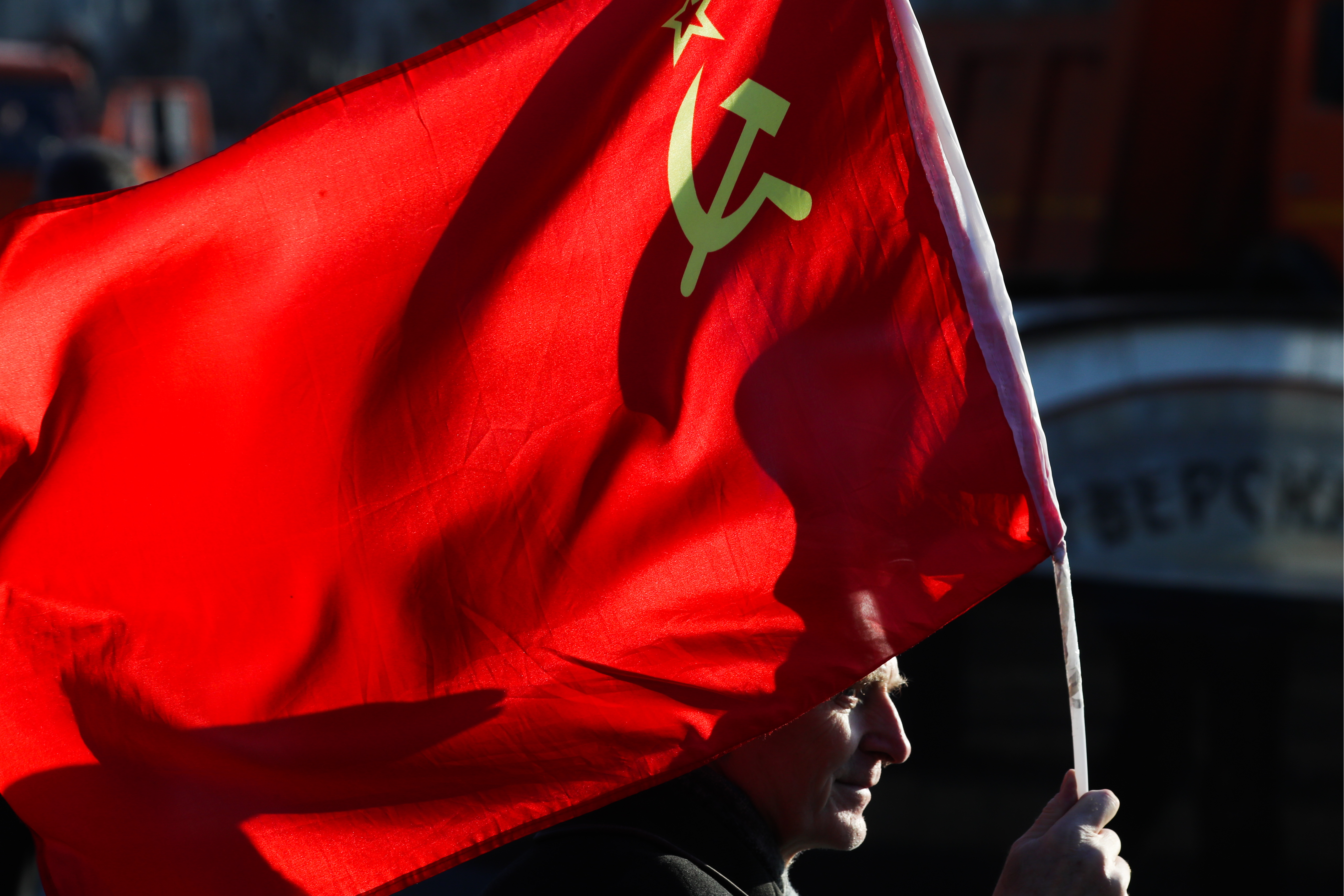 Russian Communist Party celebrates 101st anniversary of October Revolution