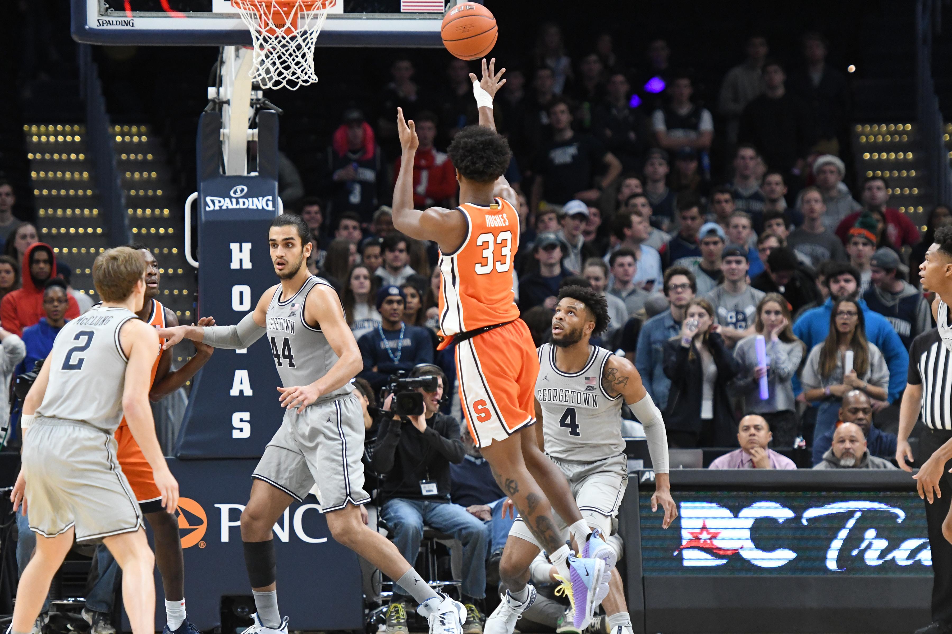 Syracuse v Georgetown