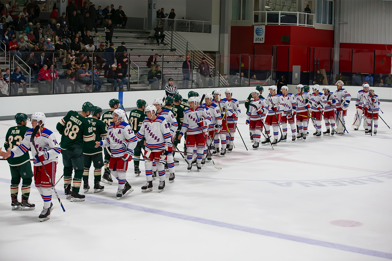 NHL Prospects Tournament Day-4 New York vs Minnesota