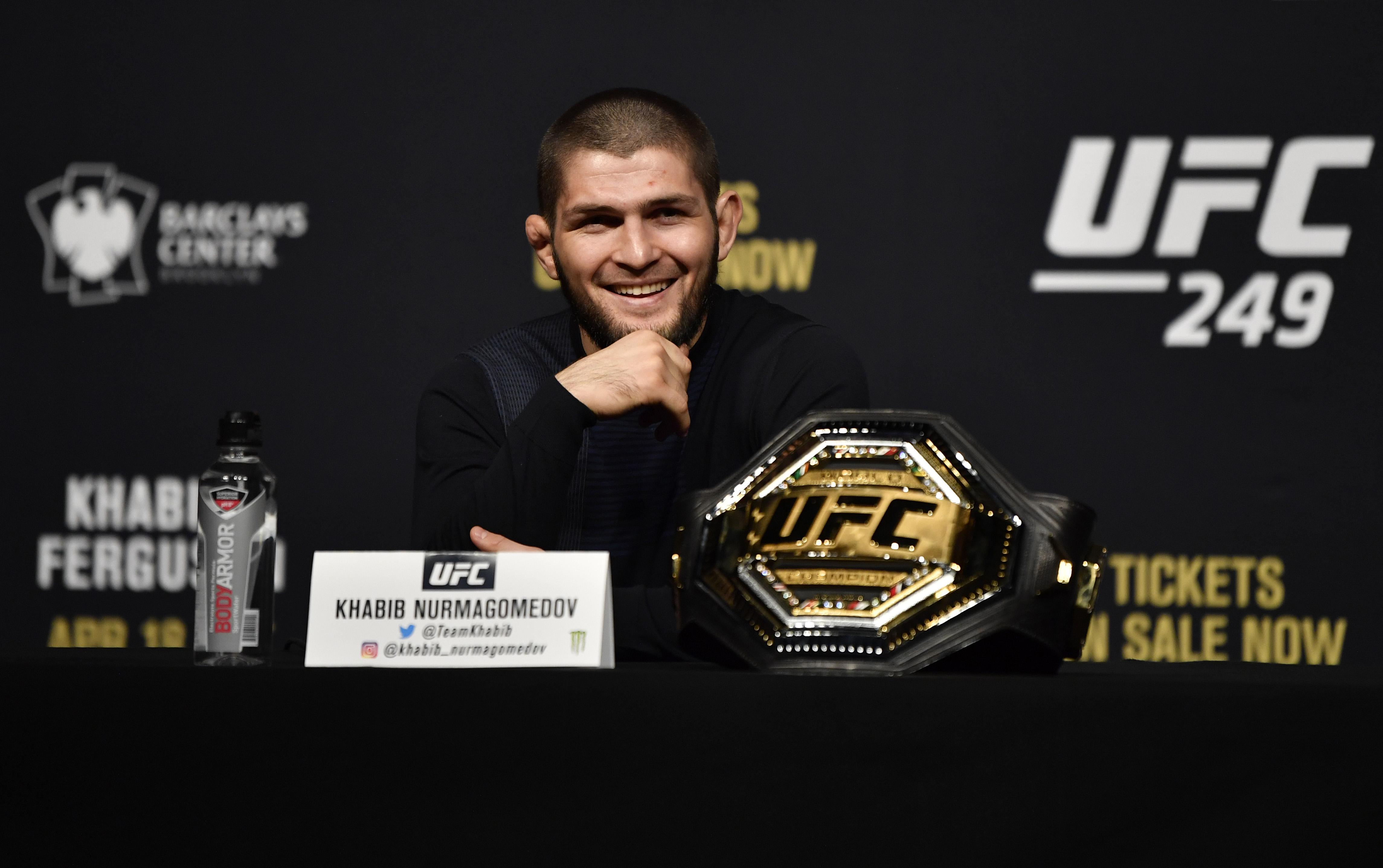 UFC 249 Khabib v Ferguson: Press Conference