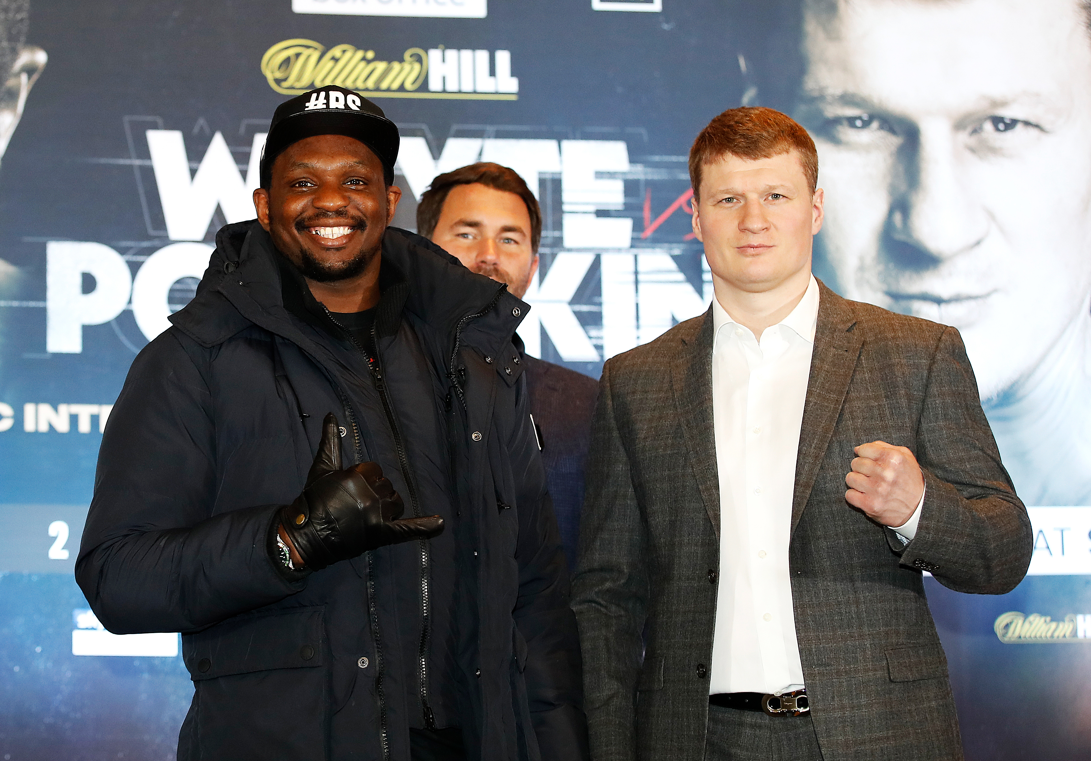 Dillian Whyte and Alexander Povetkin Press Conference - Mercure Manchester Piccadilly Hotel
