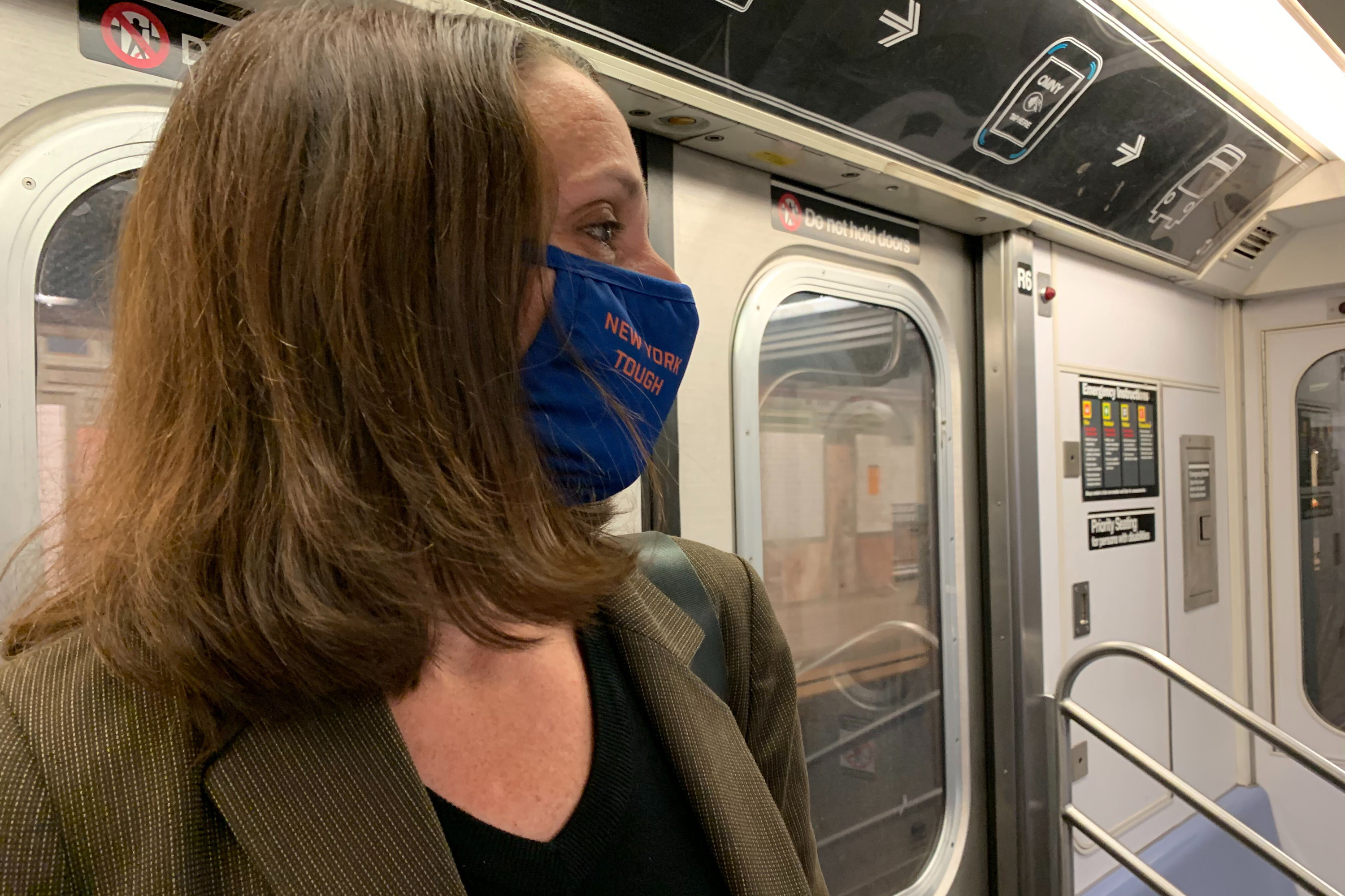 Sally Librera was planning to leave her job as head of subways at New York City Transit, June 29, 2020.