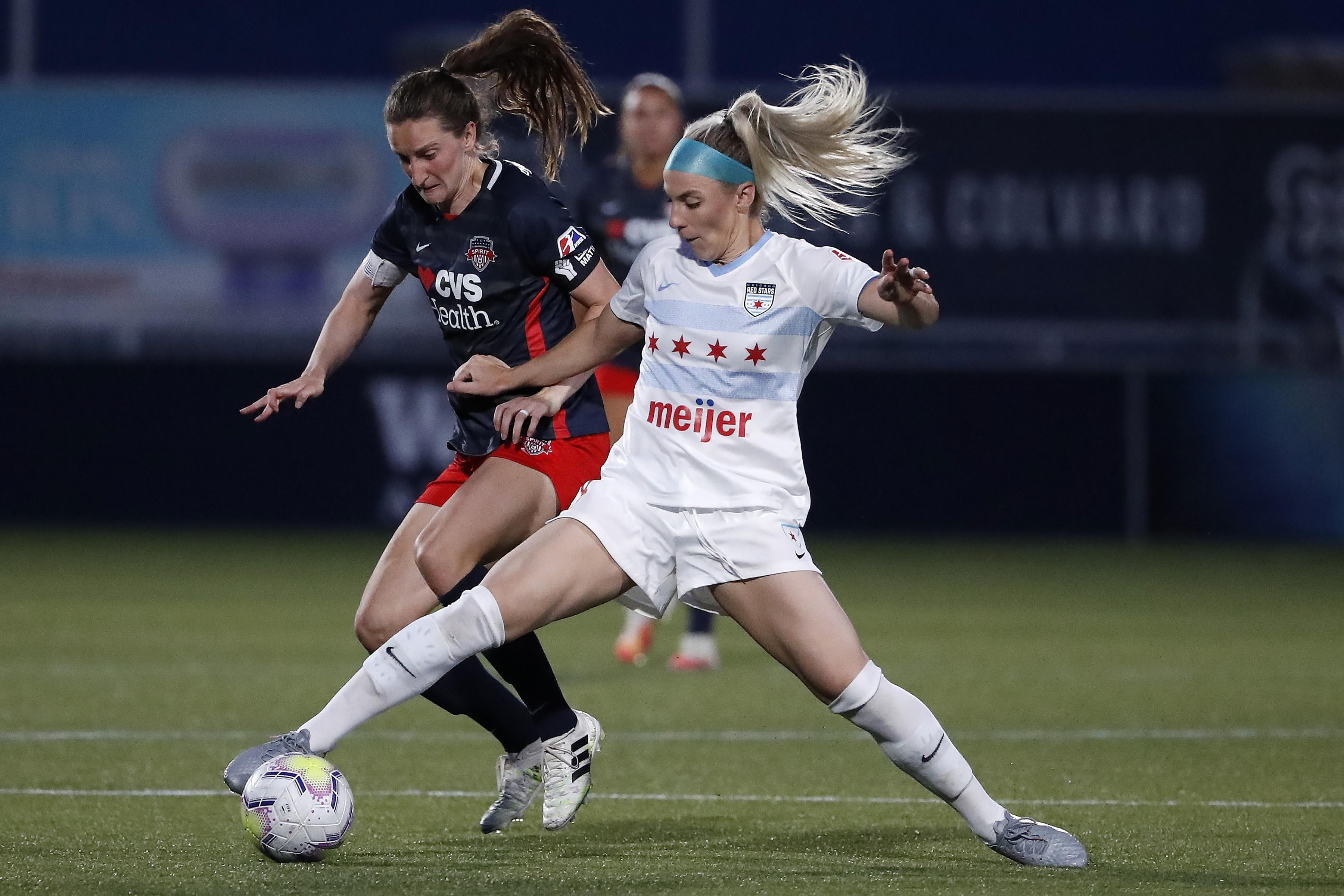 Soccer: NWSL Challenge Cup-Chicago Red Stars vs Washington Spirit