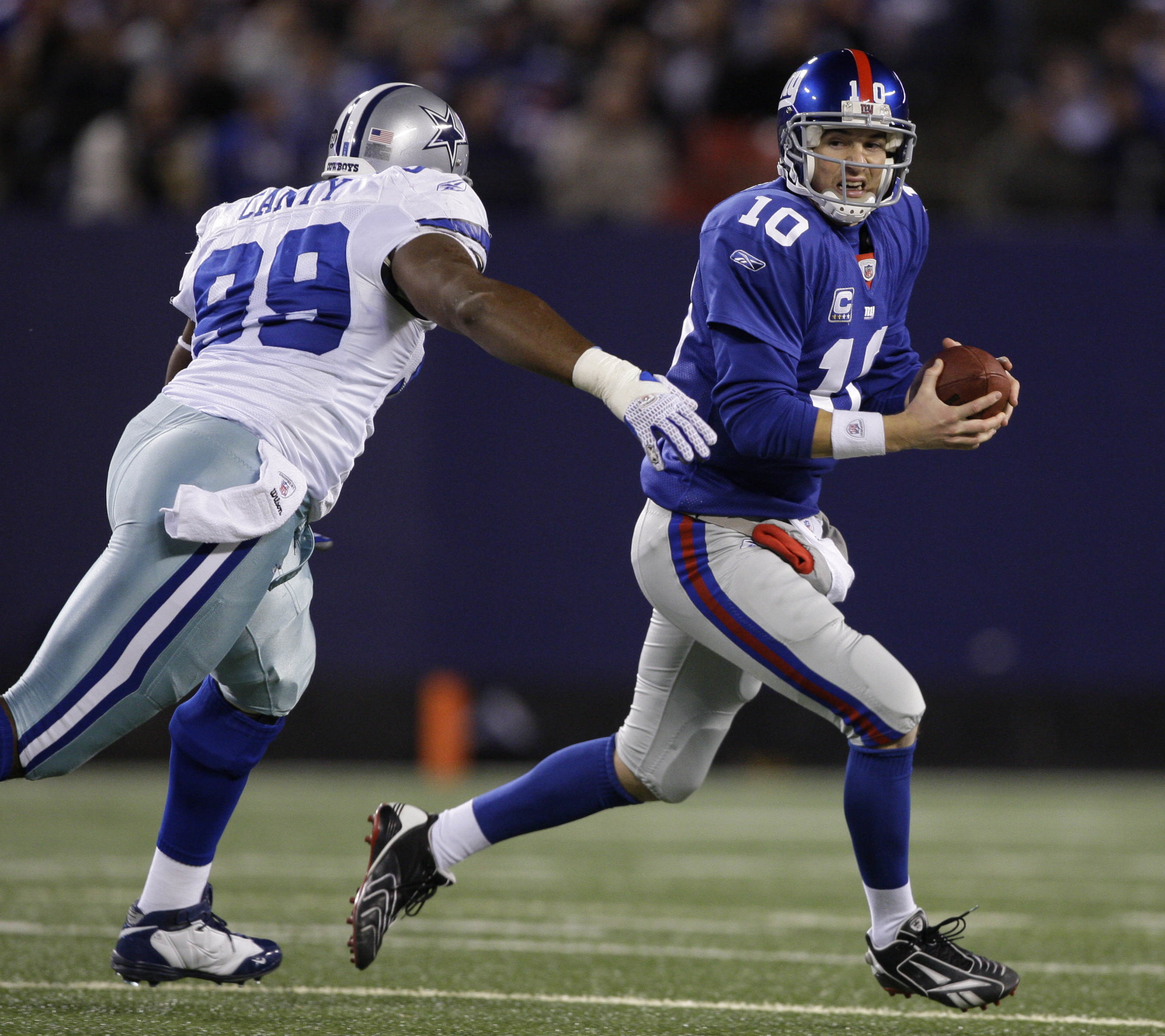Football - NFL - Cowboys vs. Giants