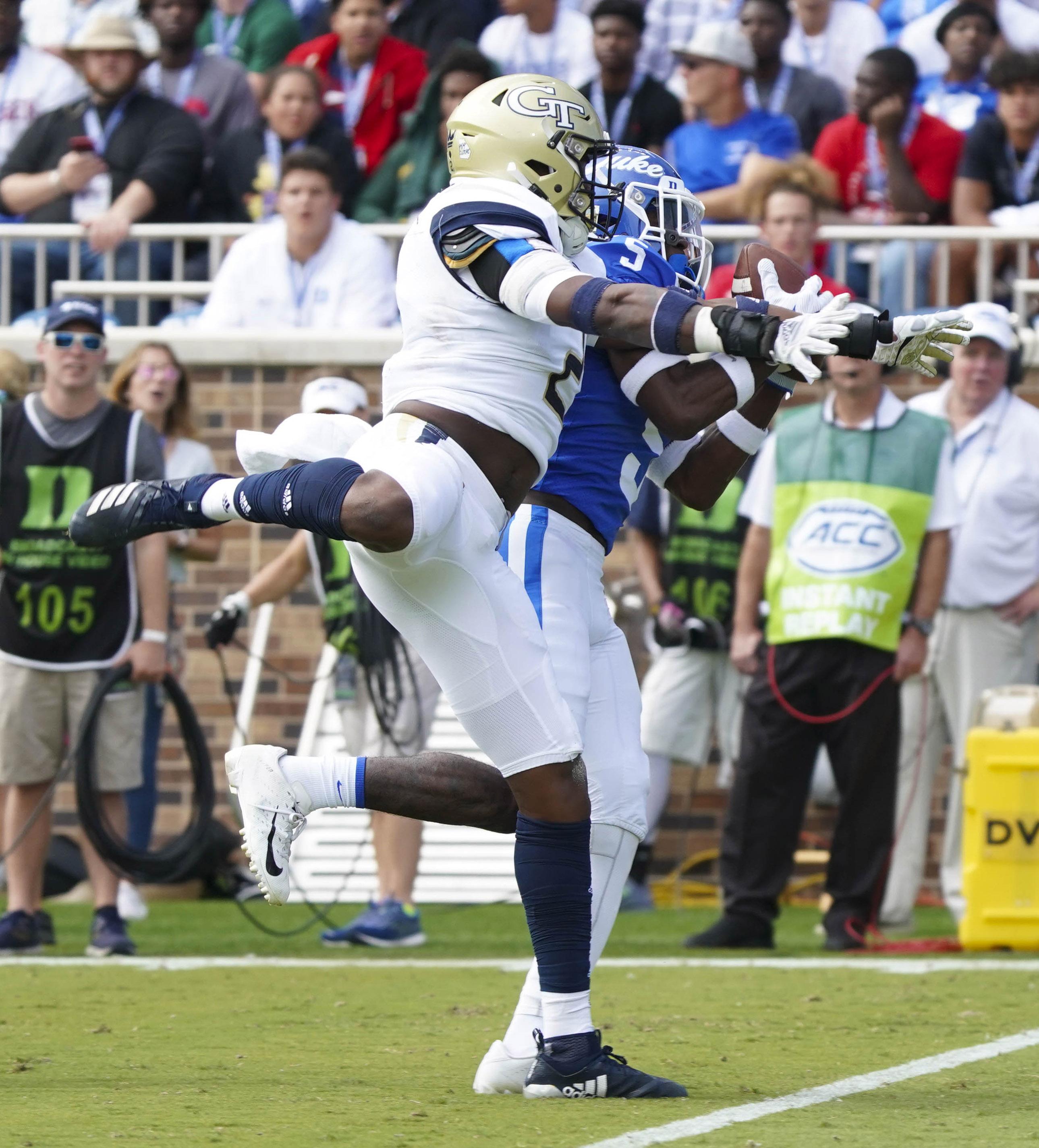 NCAA Football: Georgia Tech at Duke