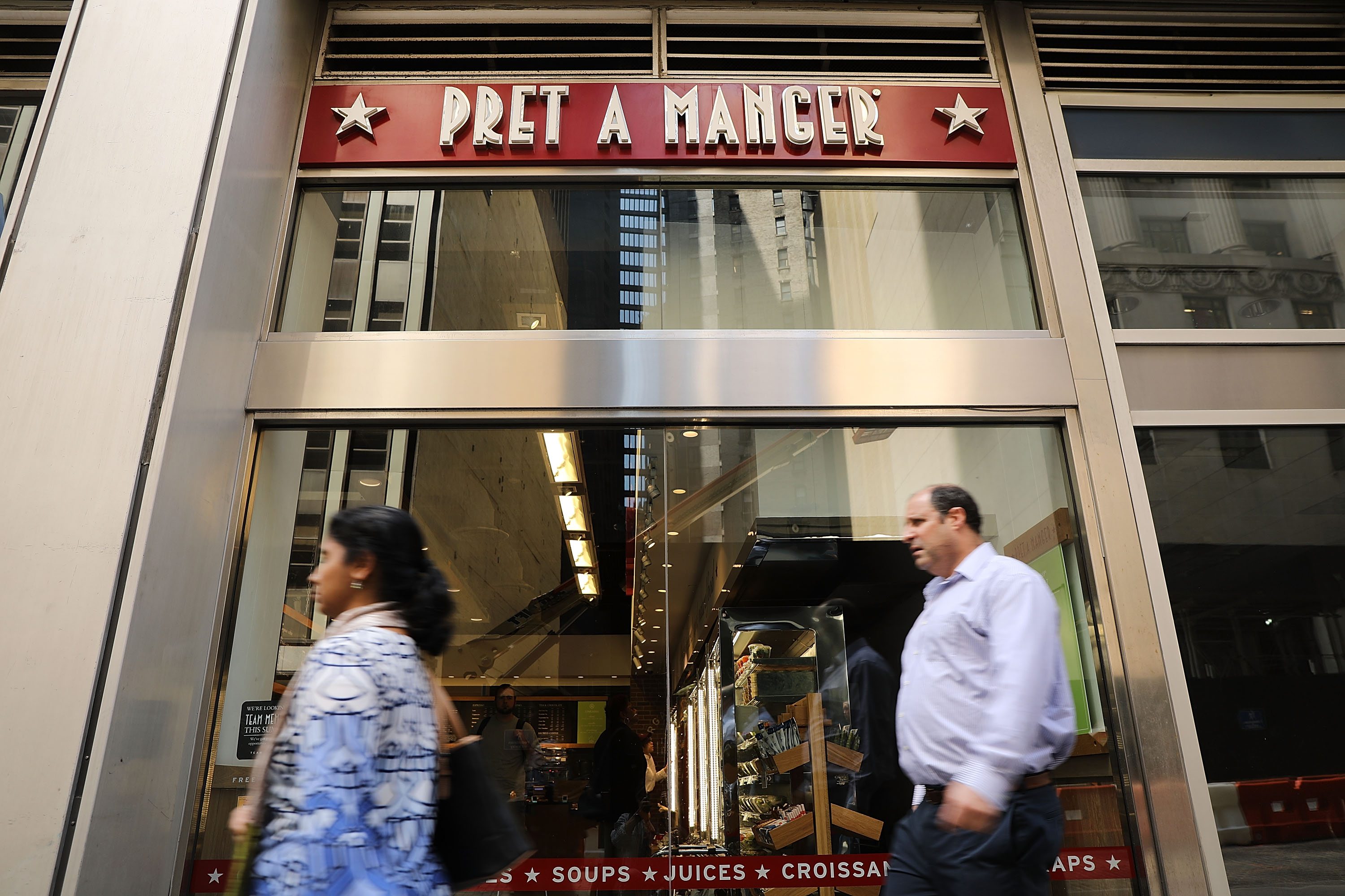 JAB Holding Co To Acquire Pret A Manger Sandwich Chain For $2 Billion