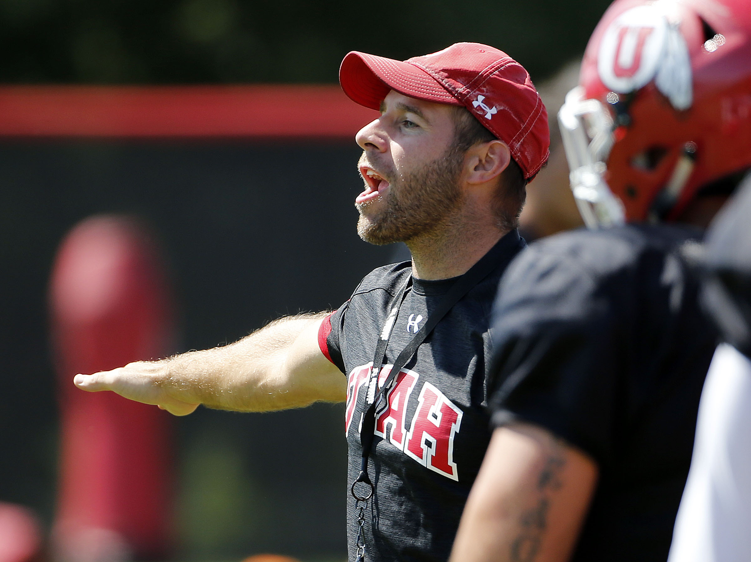 Utah assistant football coach Morgan Scalley has been directed to engage in diversity education as well as have his salary cut in half with a portion going to a forum against hate.