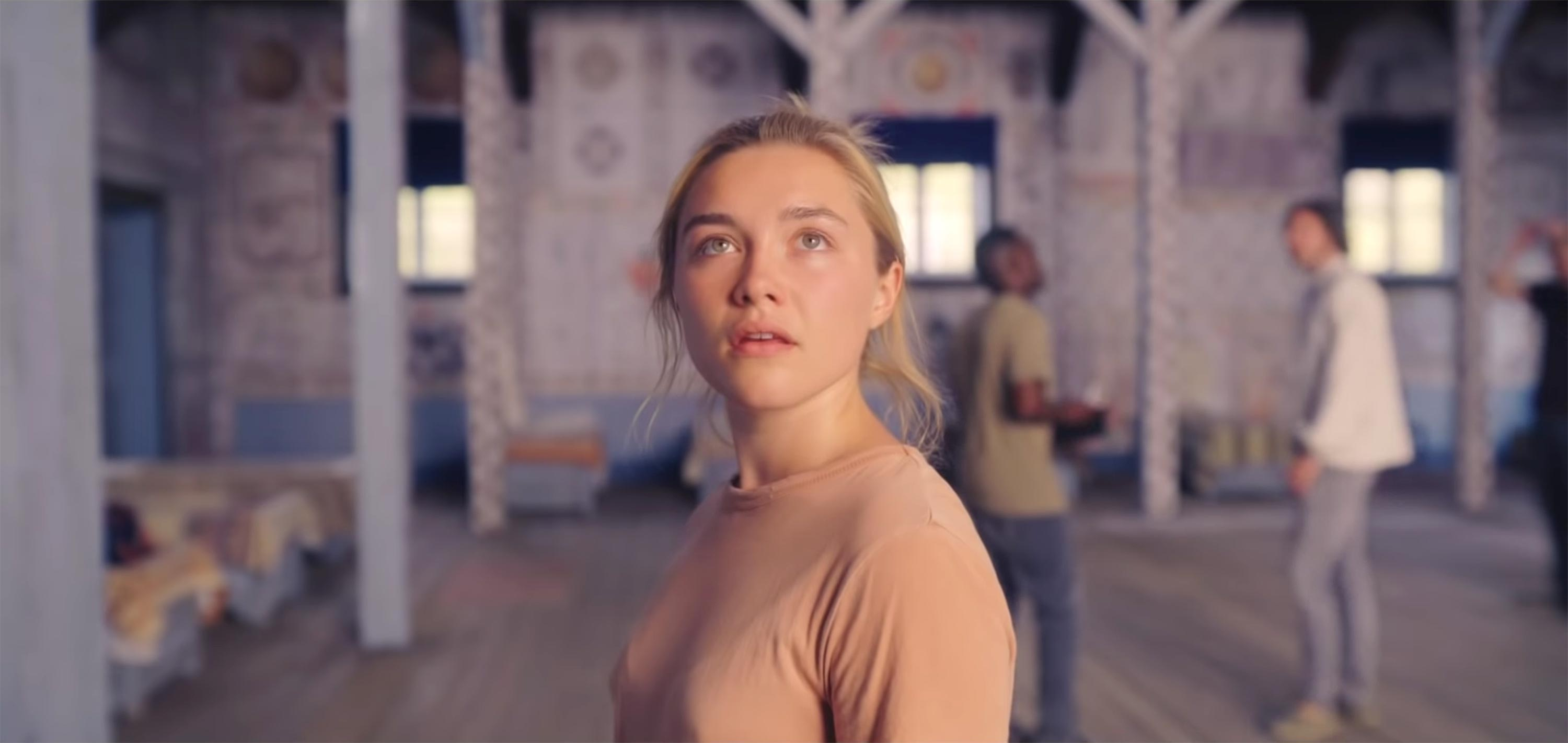 Florence Pugh in Midsommar.