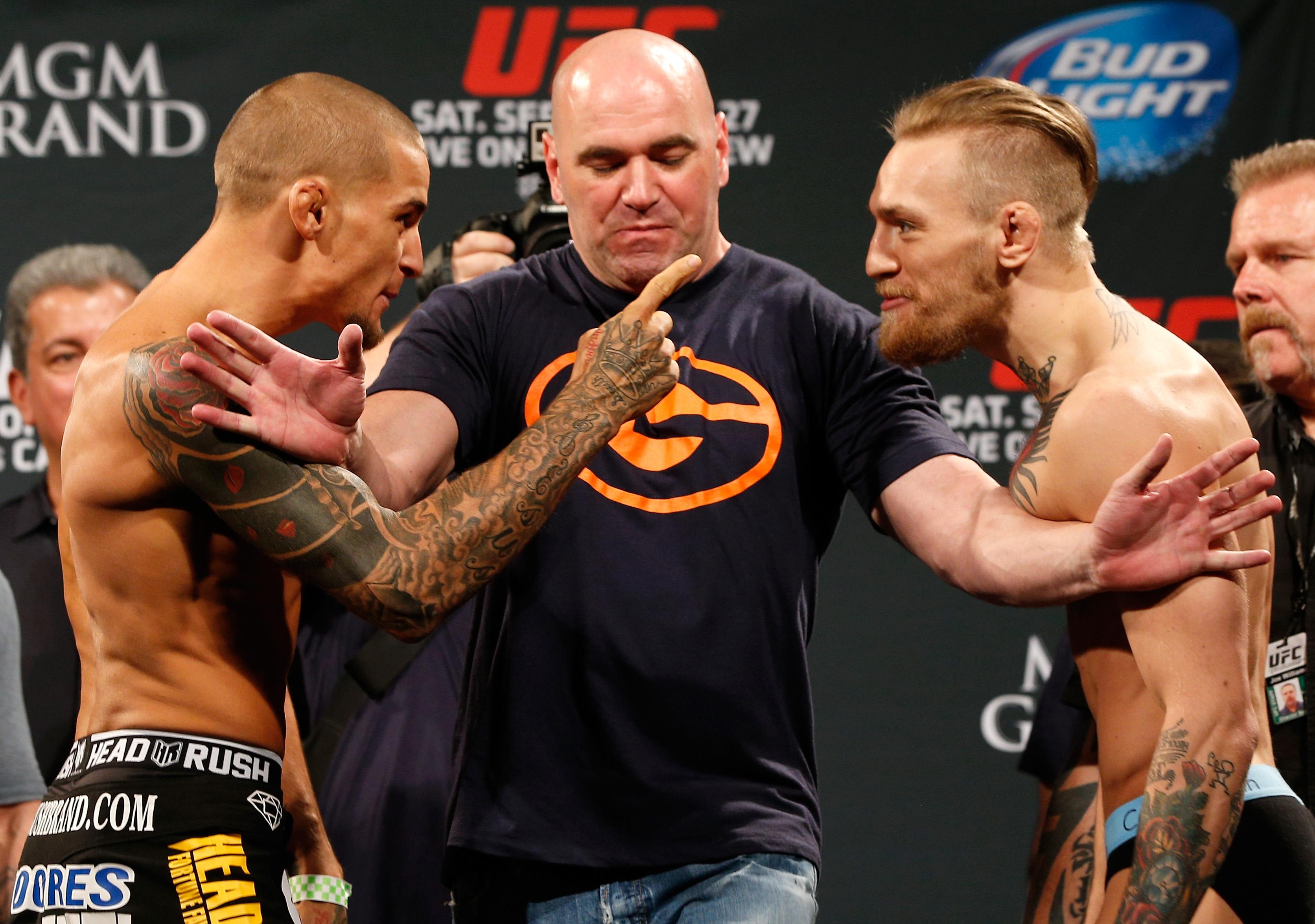 UFC 178 Conor McGregor DUstin Poirier Dana White Dan Hooker 251 Shakiel Mahjouri eSPN