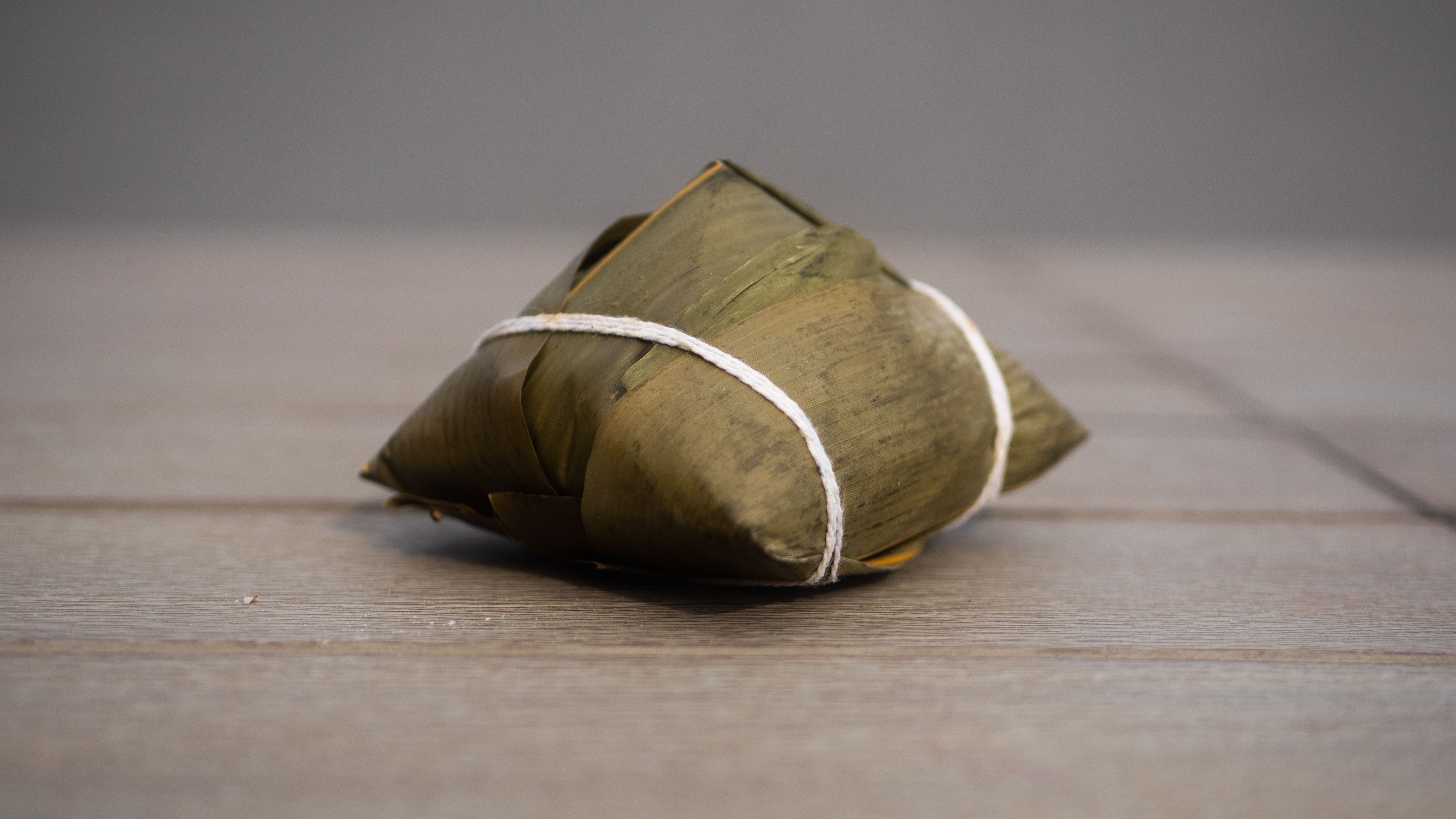 A wrapped zongzi treat from the Tang