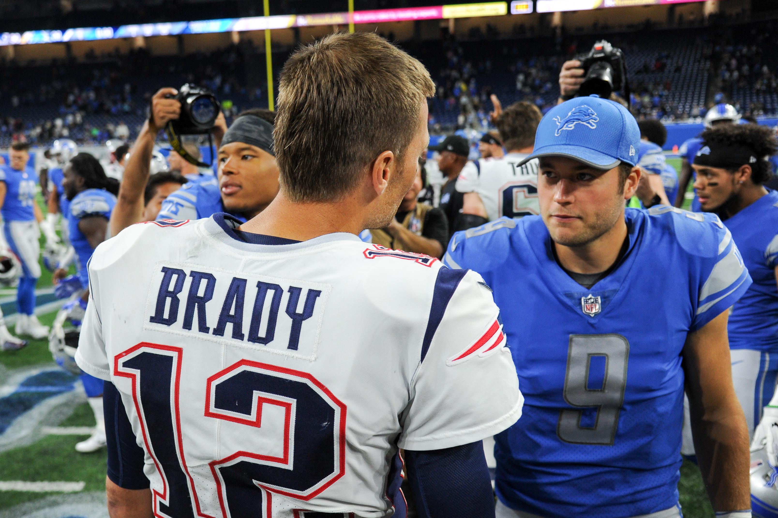 NFL: AUG 25 Preseason - Patriots at Lions