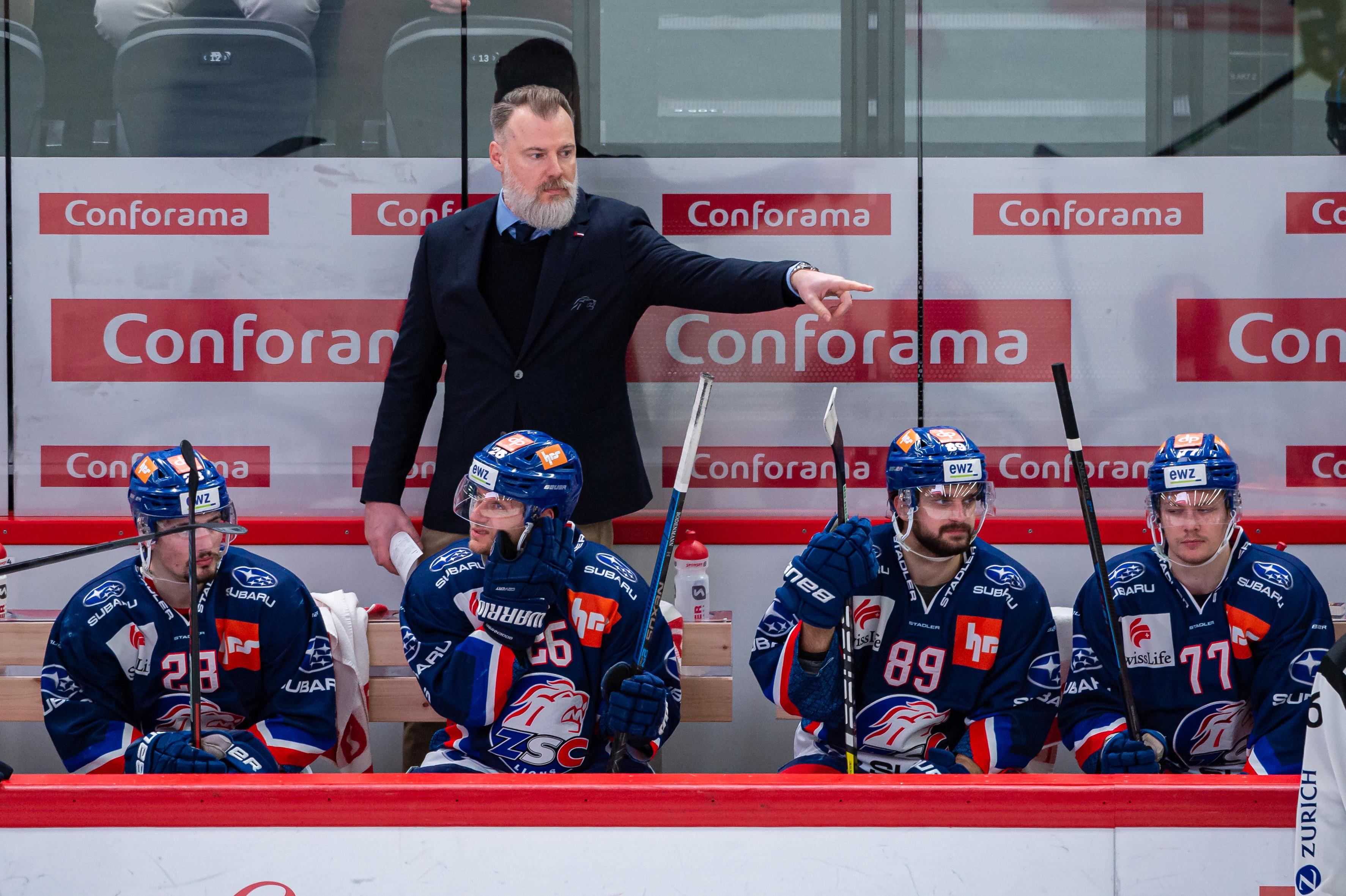 Lausanne HC - ZSC Lions - Swiss National League