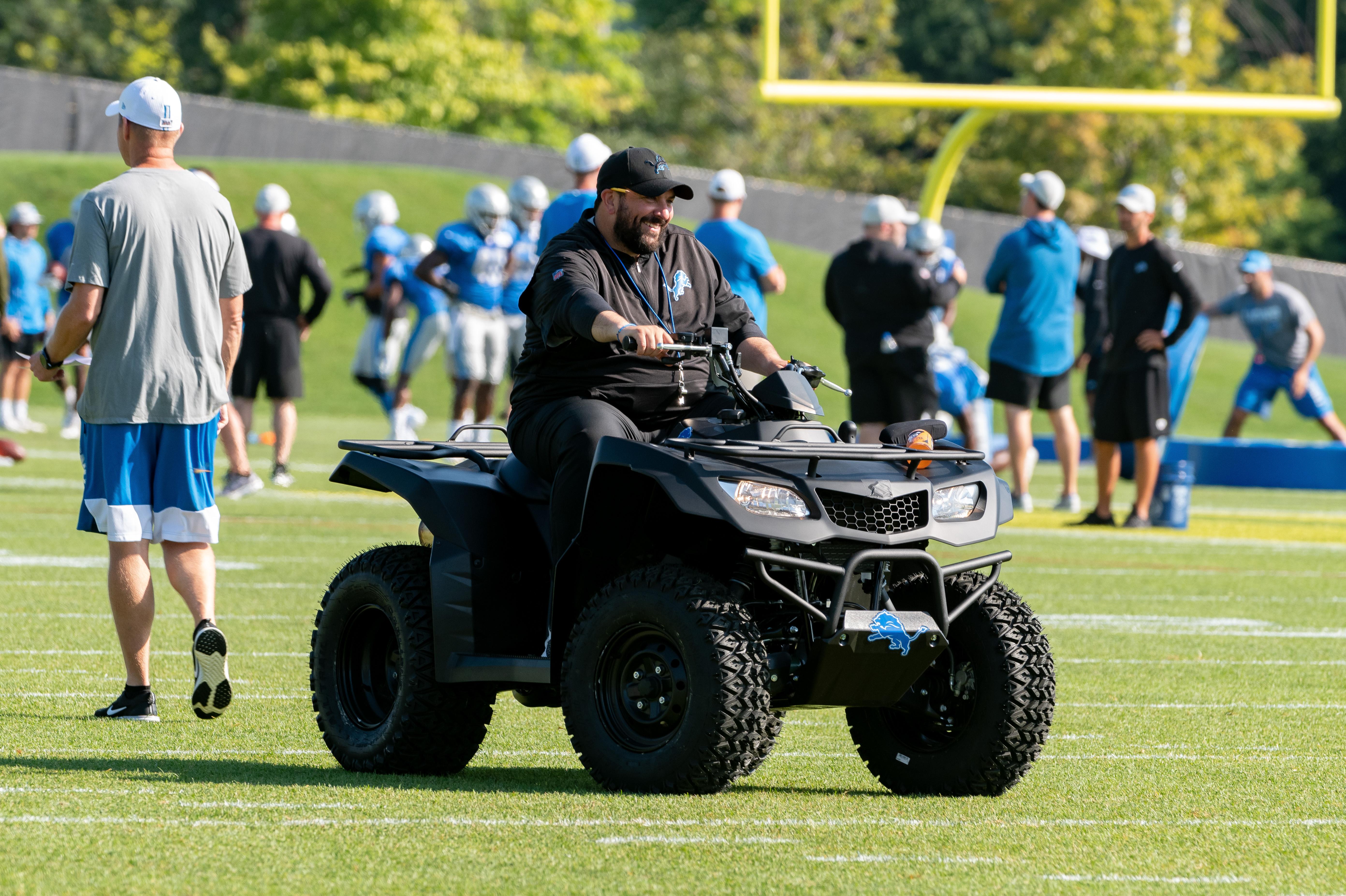NFL: JUL 30 Detroit Lions Training Camp