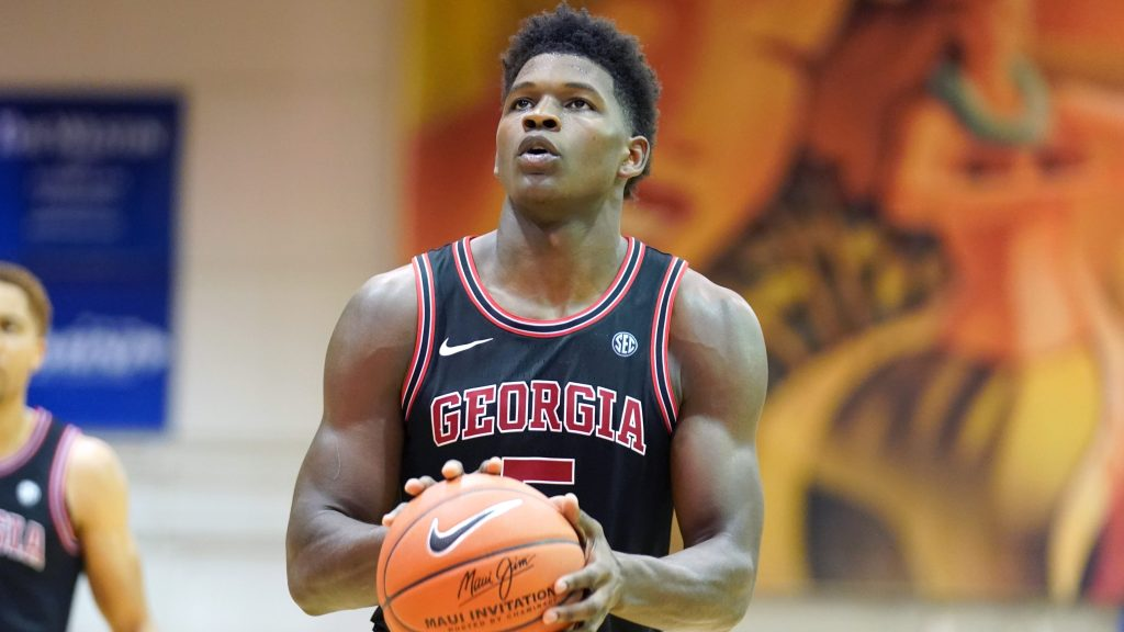Georgia's Anthony Edwards is the clear top two guard in the NBA Draft, but sits at No. 1 overall on most draft boards.