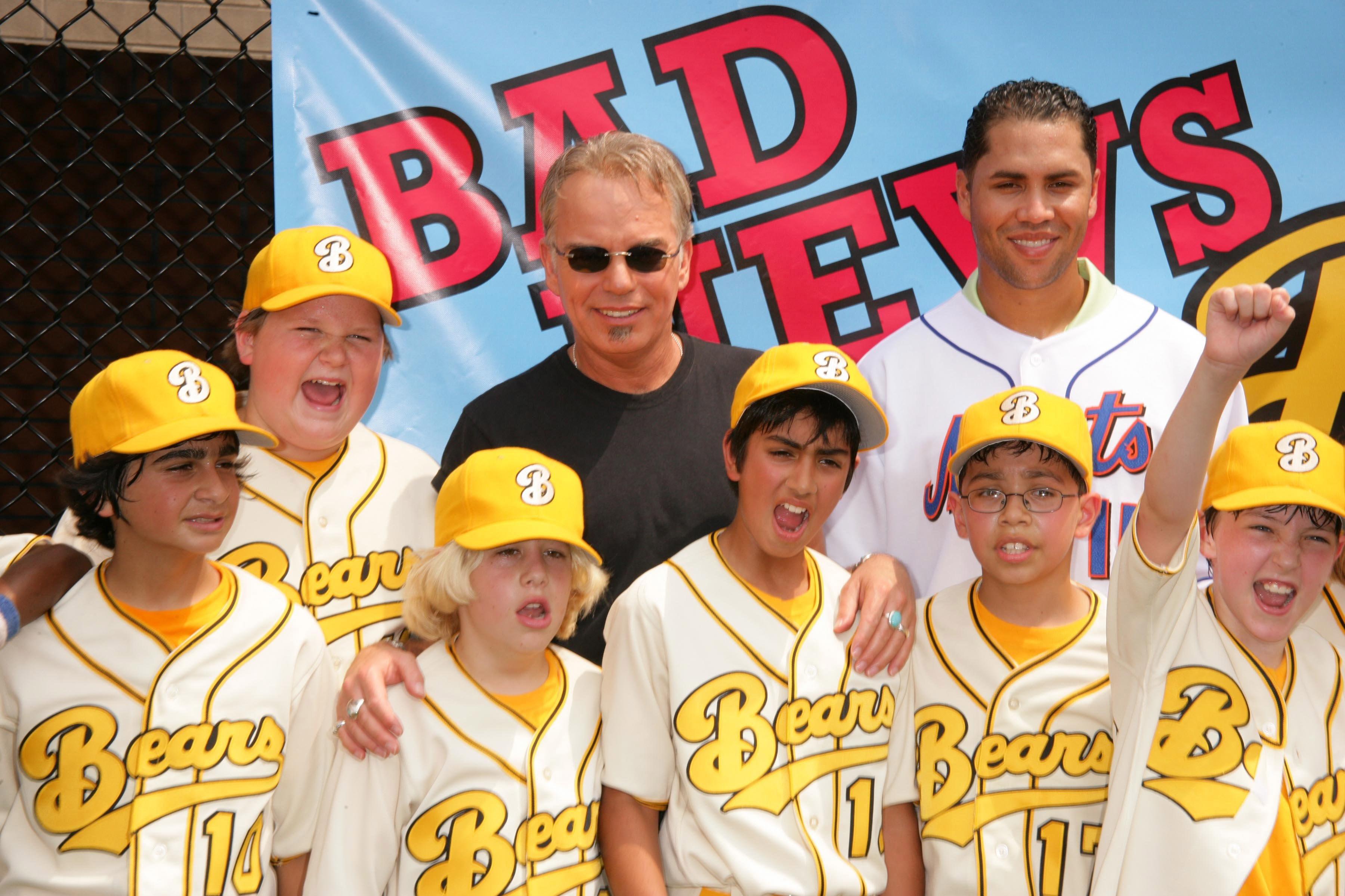 """The """"Bad News Bears"""" meet Mets All-Star Carlos Beltran"""