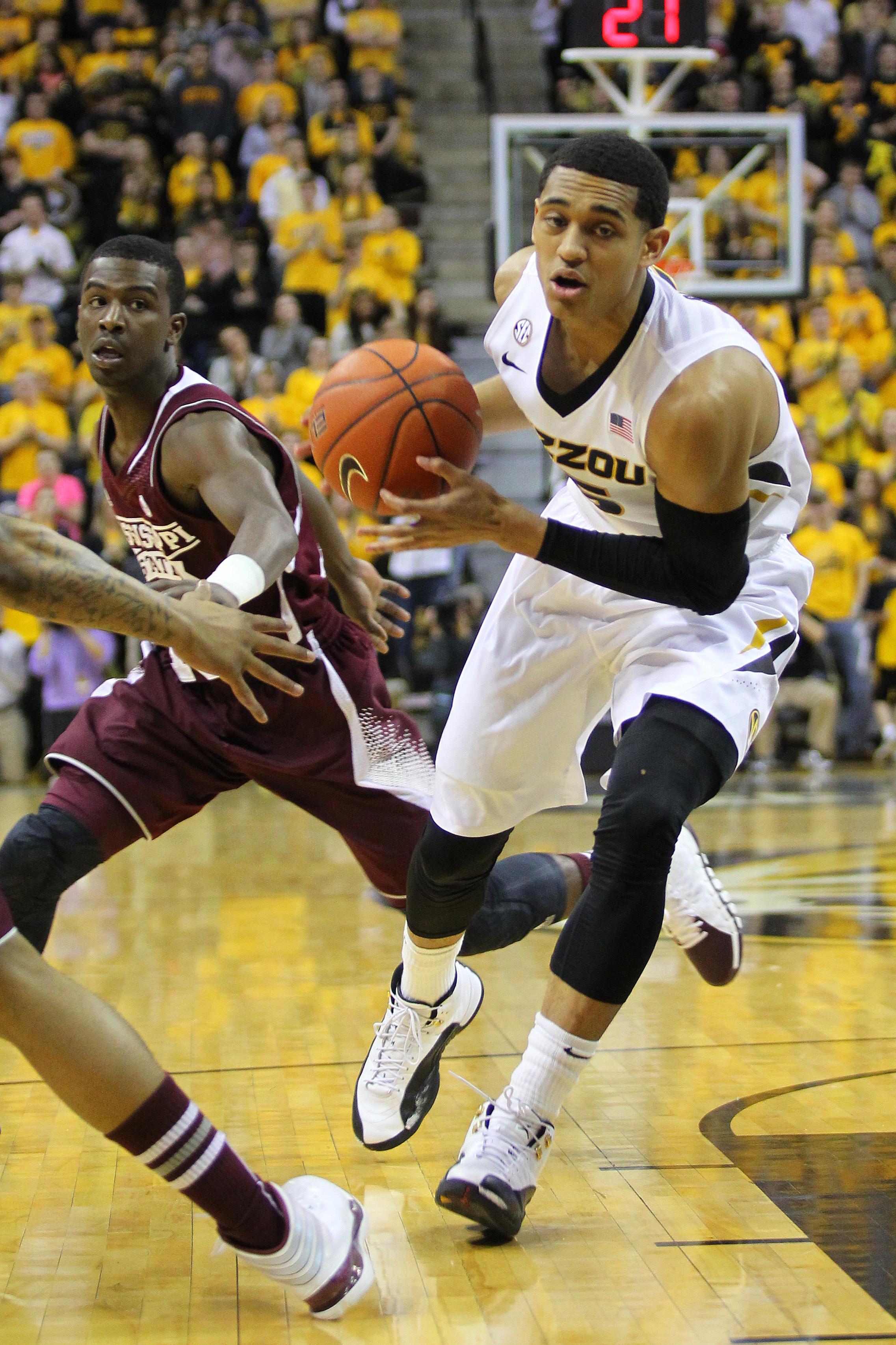 NCAA BASKETBALL: MAR 01 Mississippi State at Missouri