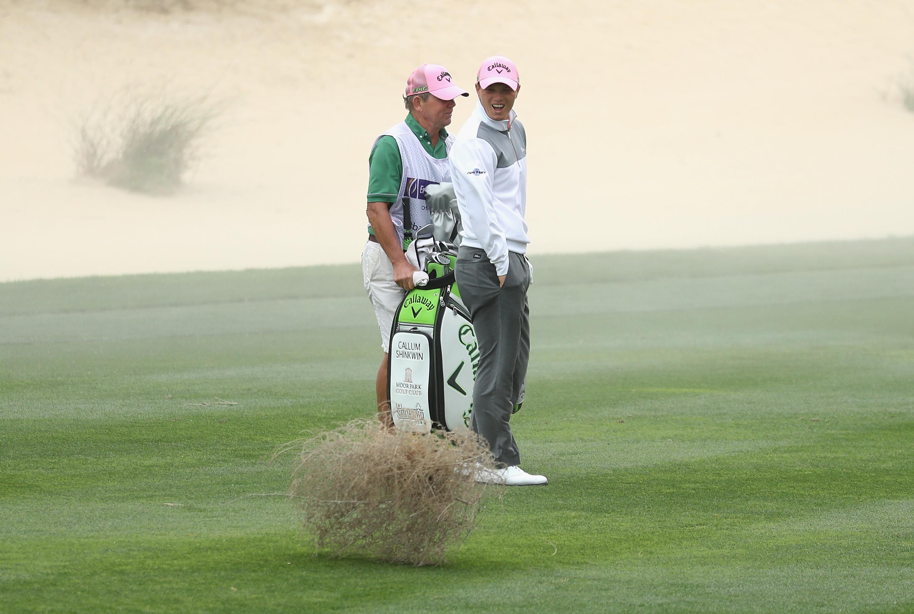 Omega Dubai Desert Classic - Day Two