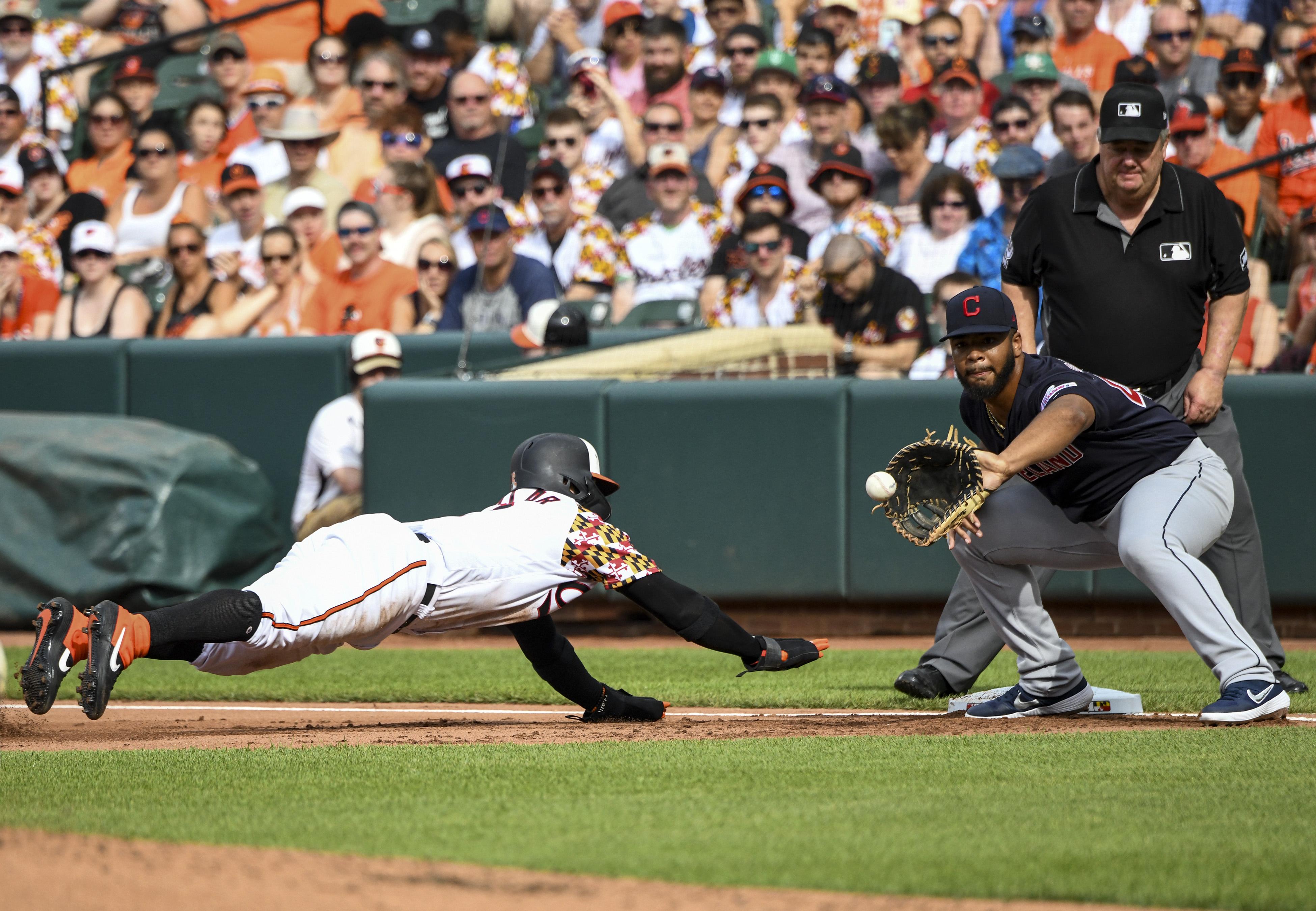 MLB: JUN 29 Indians at Orioles