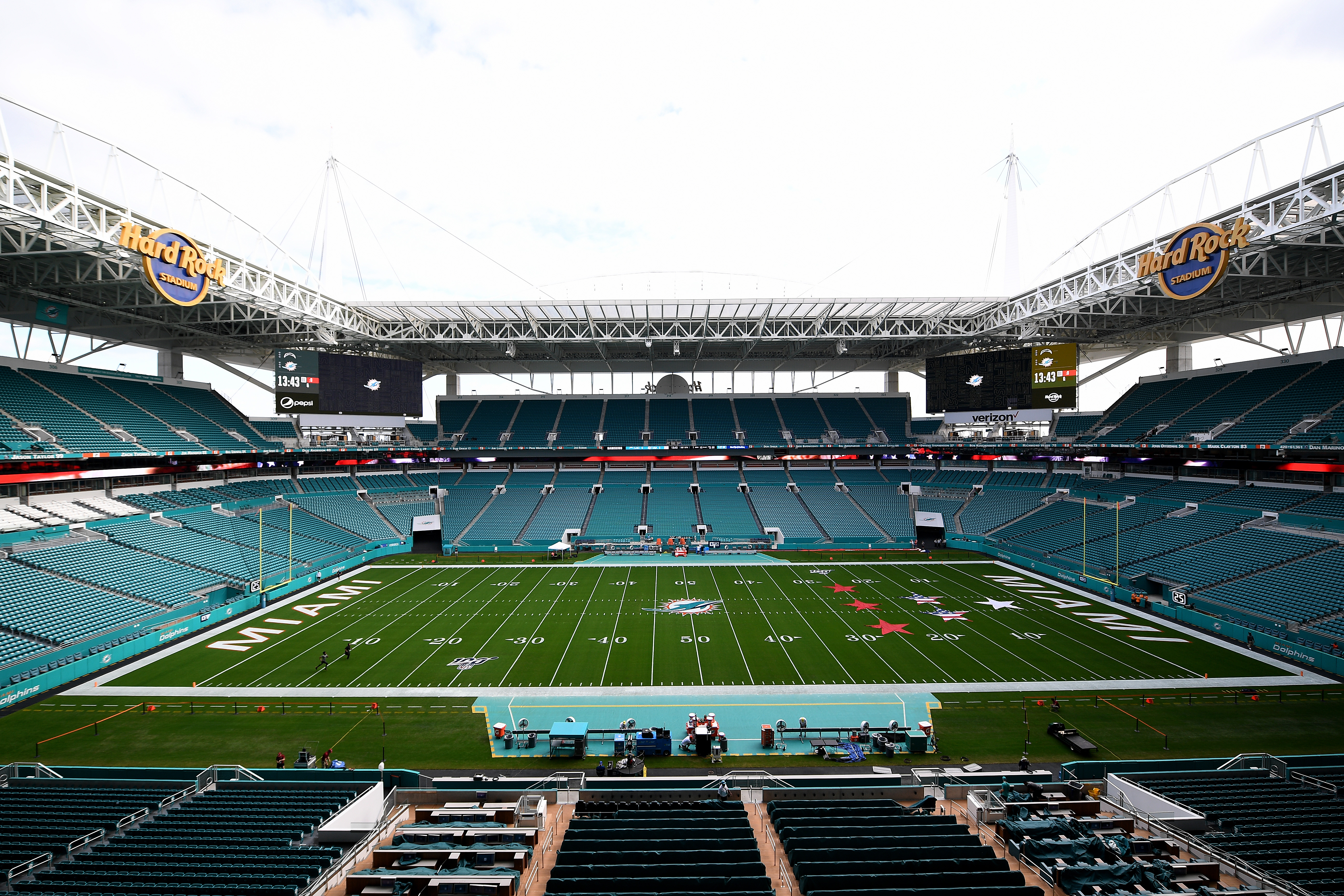 Los Angeles Chargers vMiami Dolphins