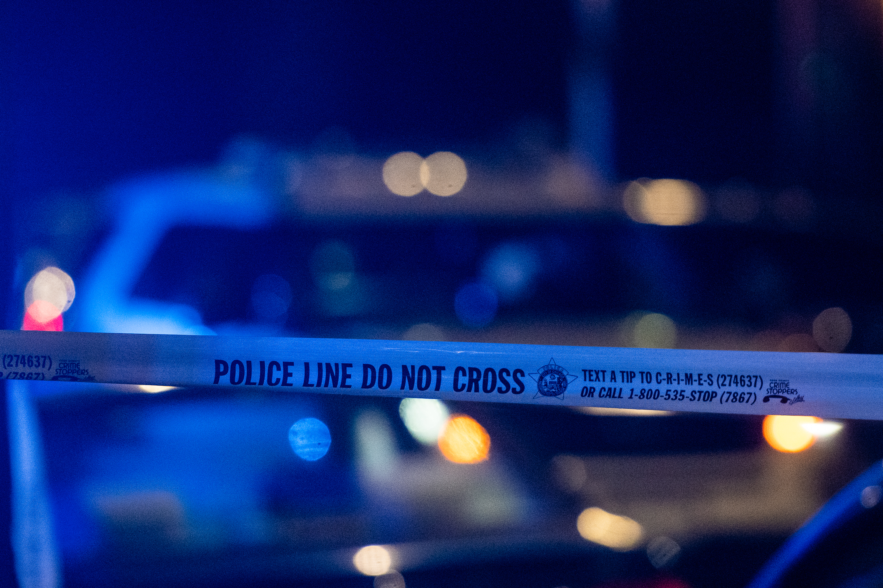Two Chicago police officers were injured when their squad car crashed into a park gate July 6, 2020, in the 3400 block of East 87th Street.