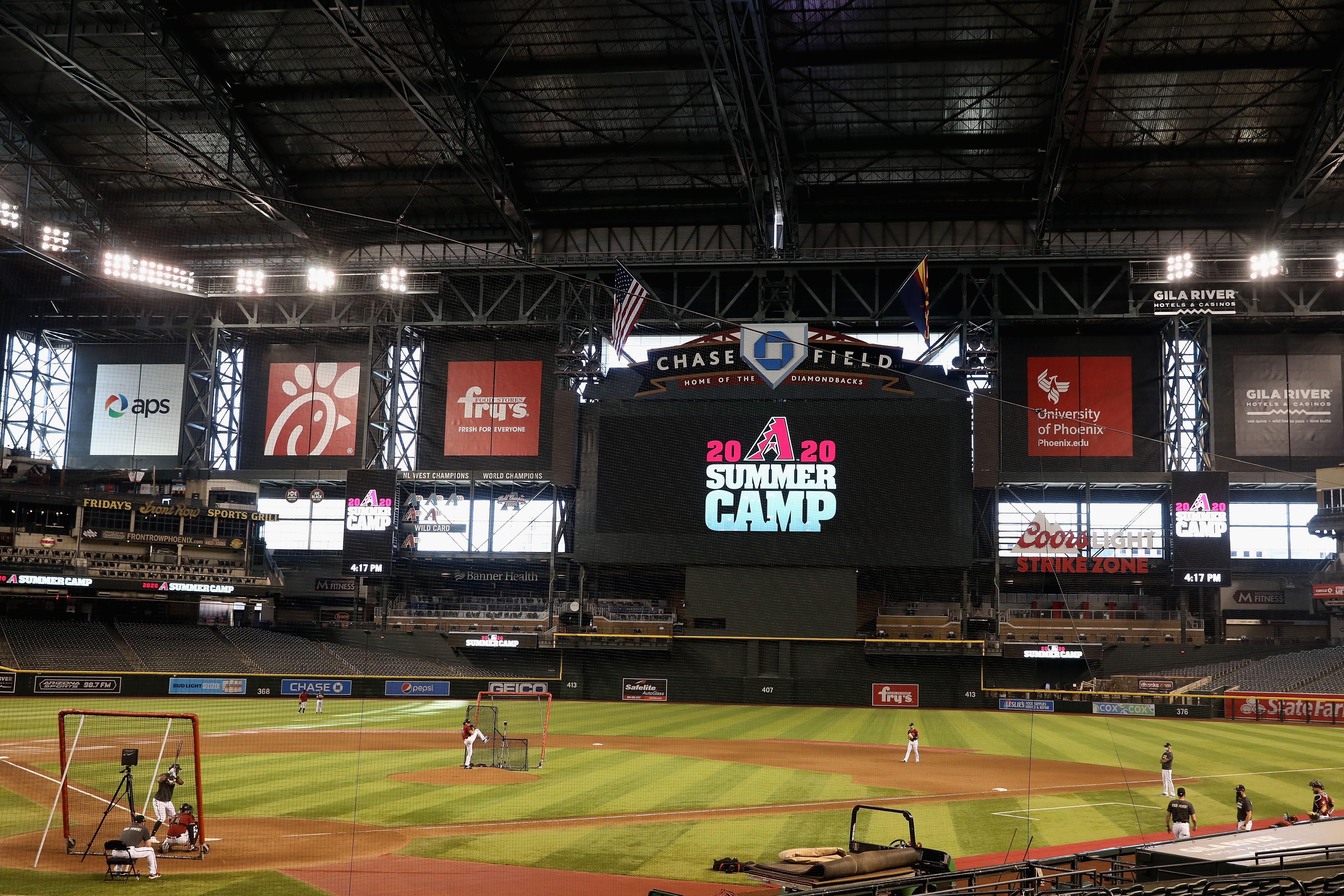 Arizona Diamondbacks Summer Workouts