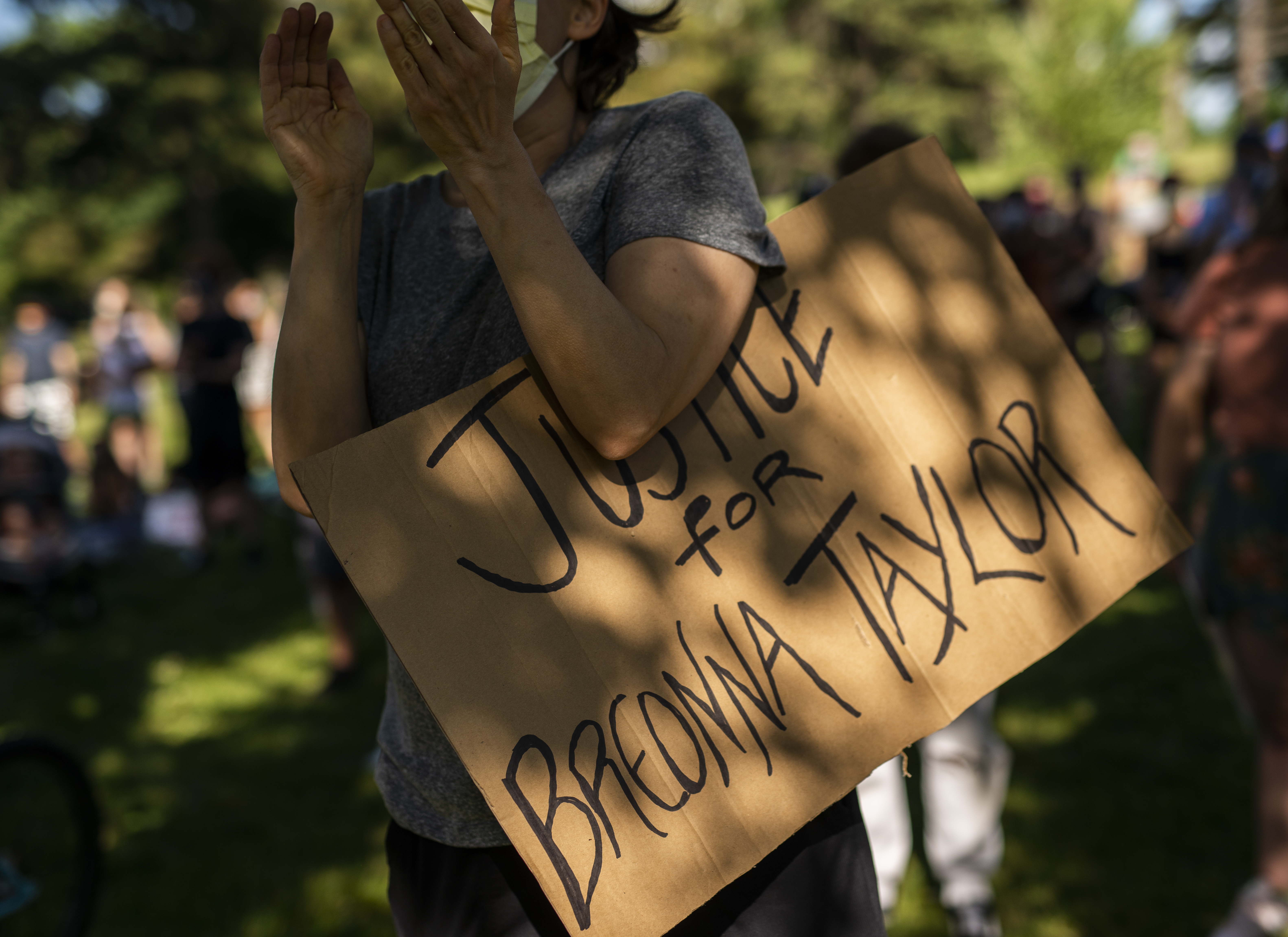 March For Breonna Taylor Held In Minneapolis