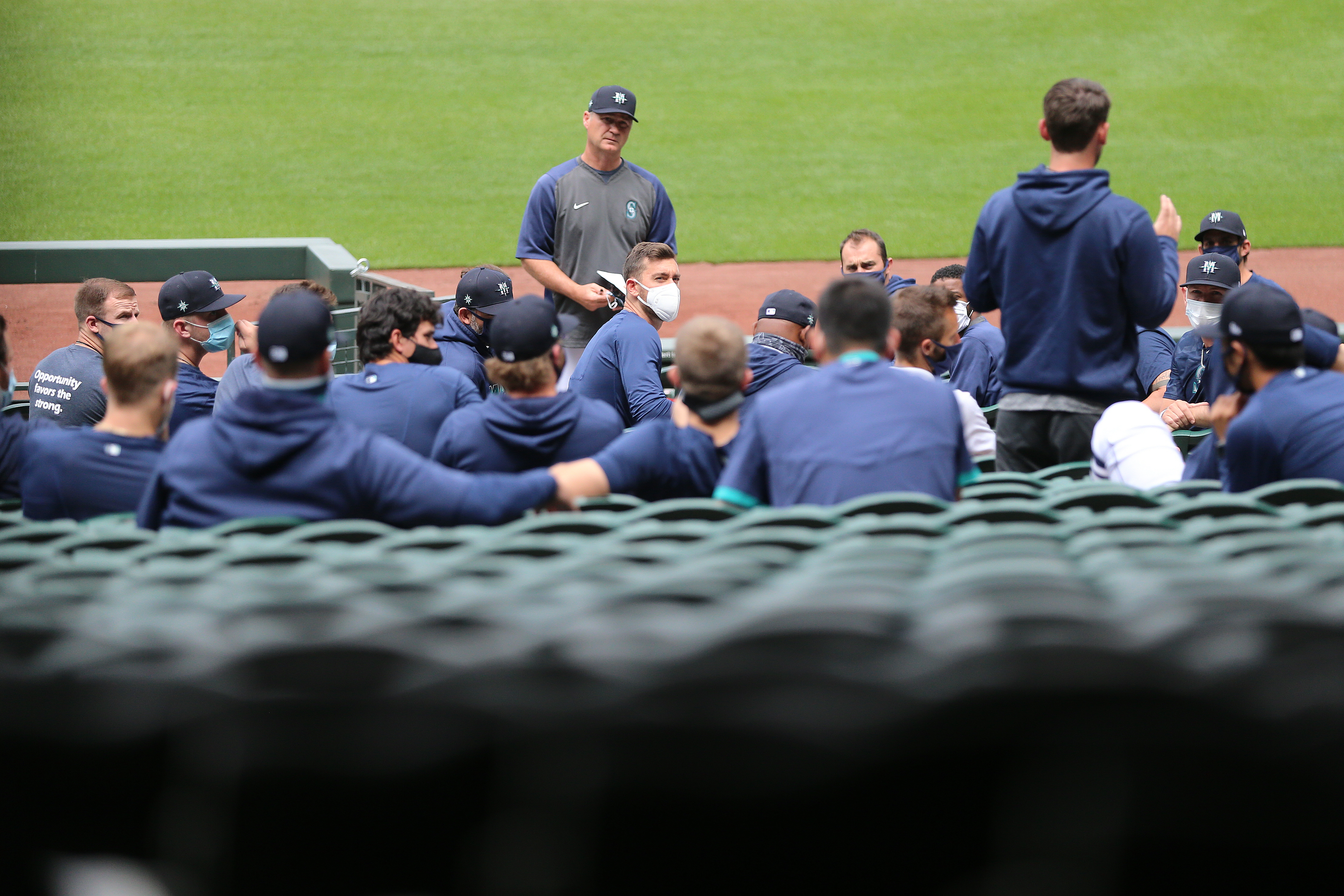 Seattle Mariners Summer Workouts