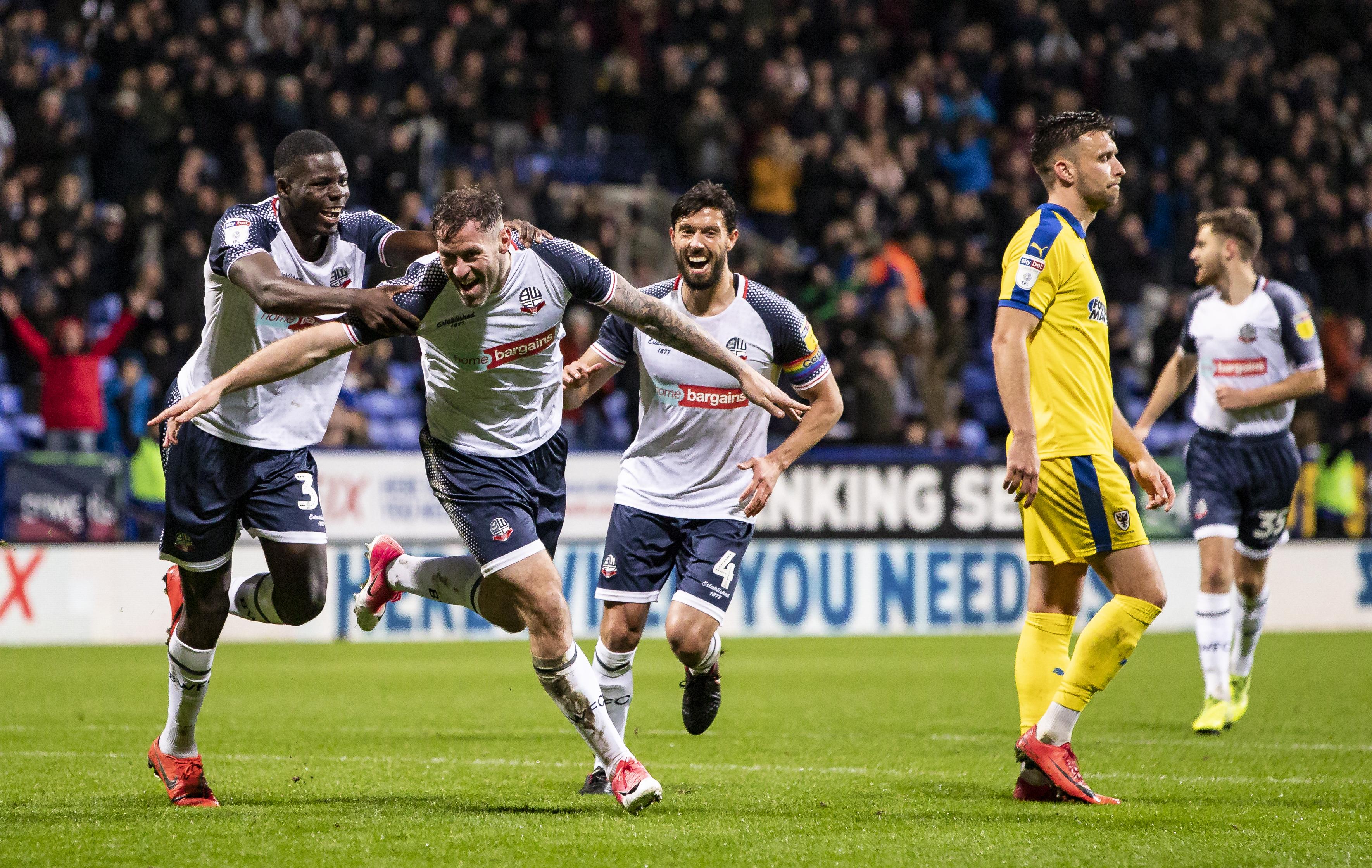 Bolton Wanderers v AFC Wimbledon - Sky Bet League One