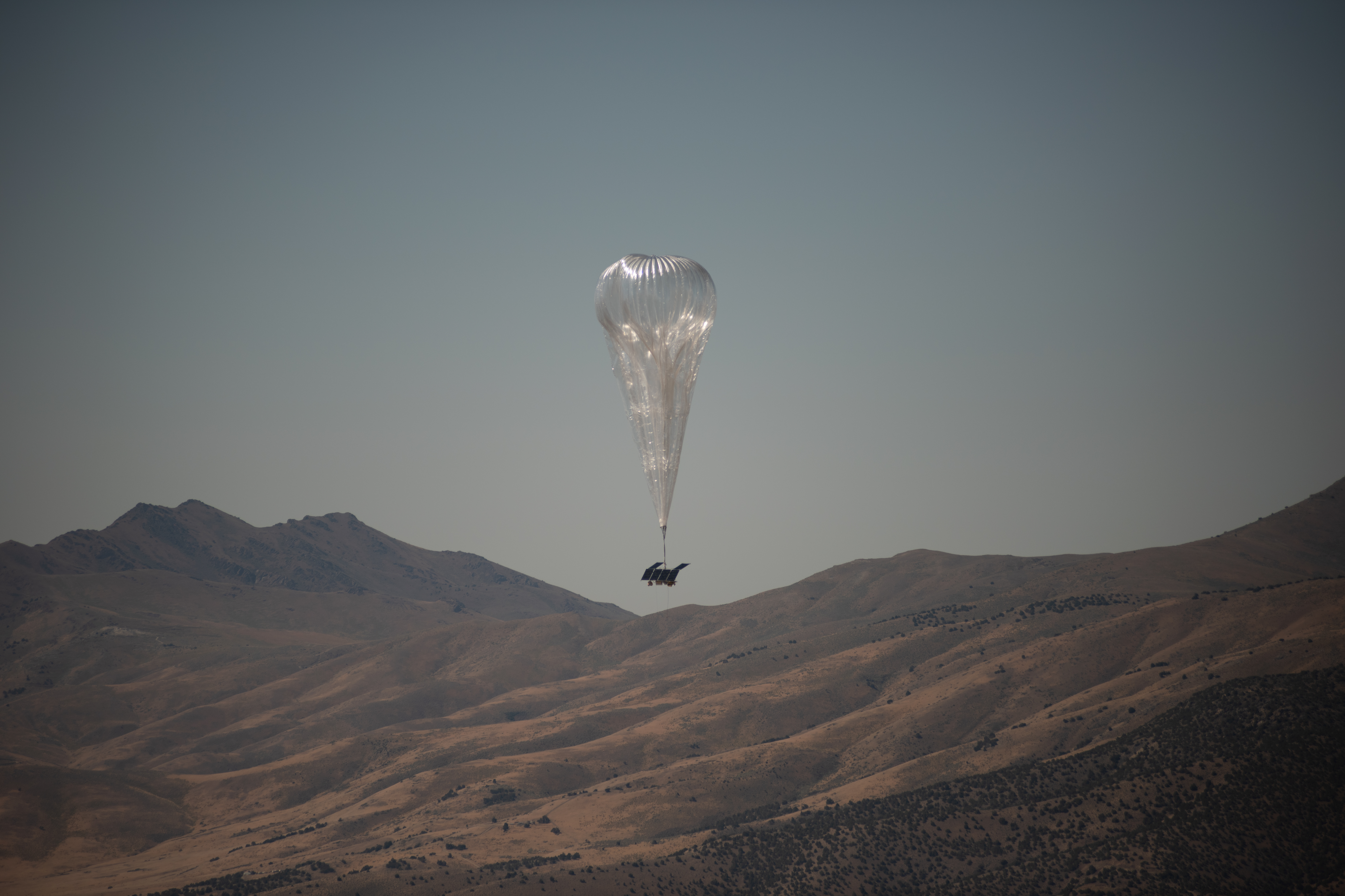 Loon's fleet of 35 balloons will serve an area of 50,000 square kilometres.