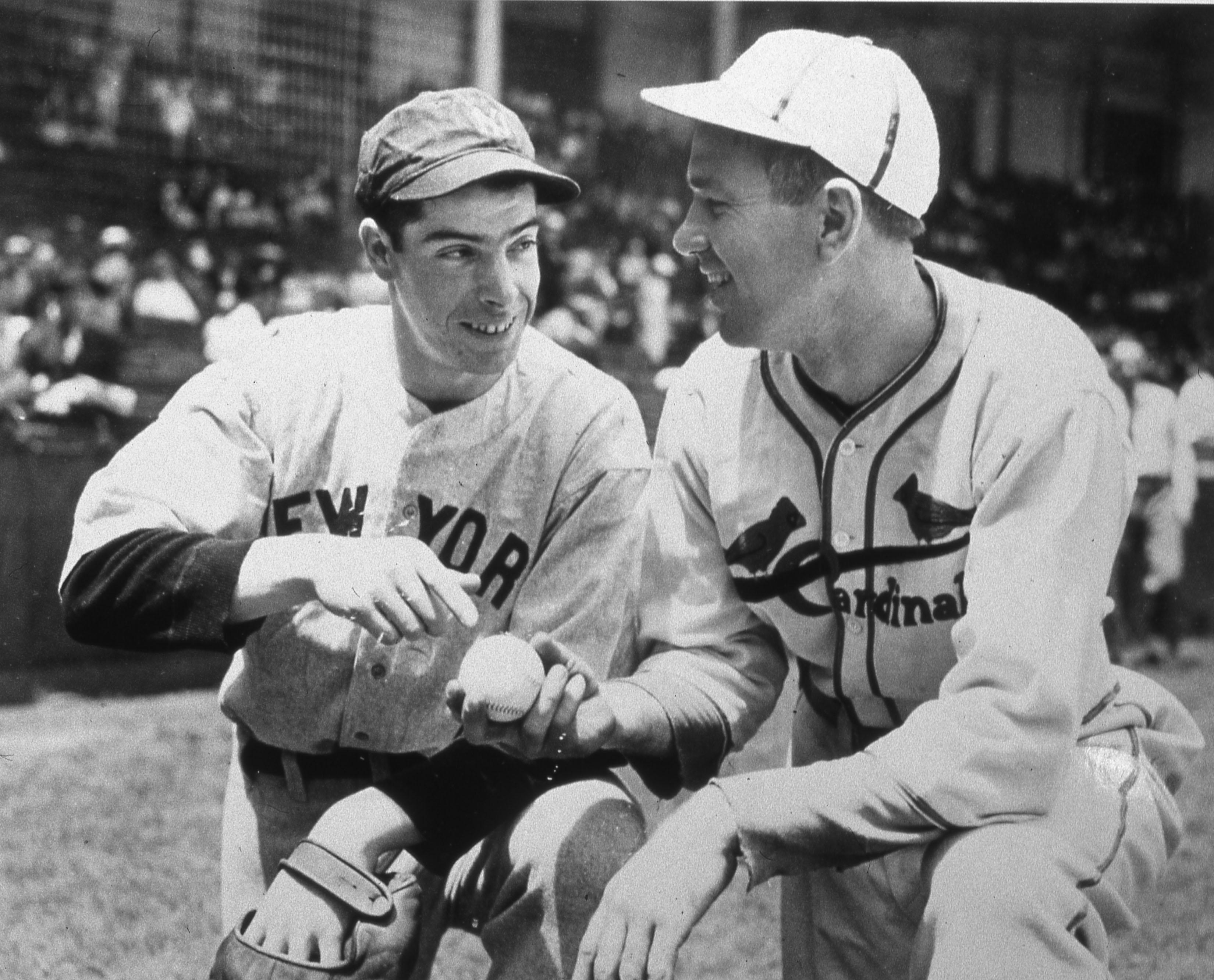 Joe DiMaggio Dizzy Dean 1936 All Star Game