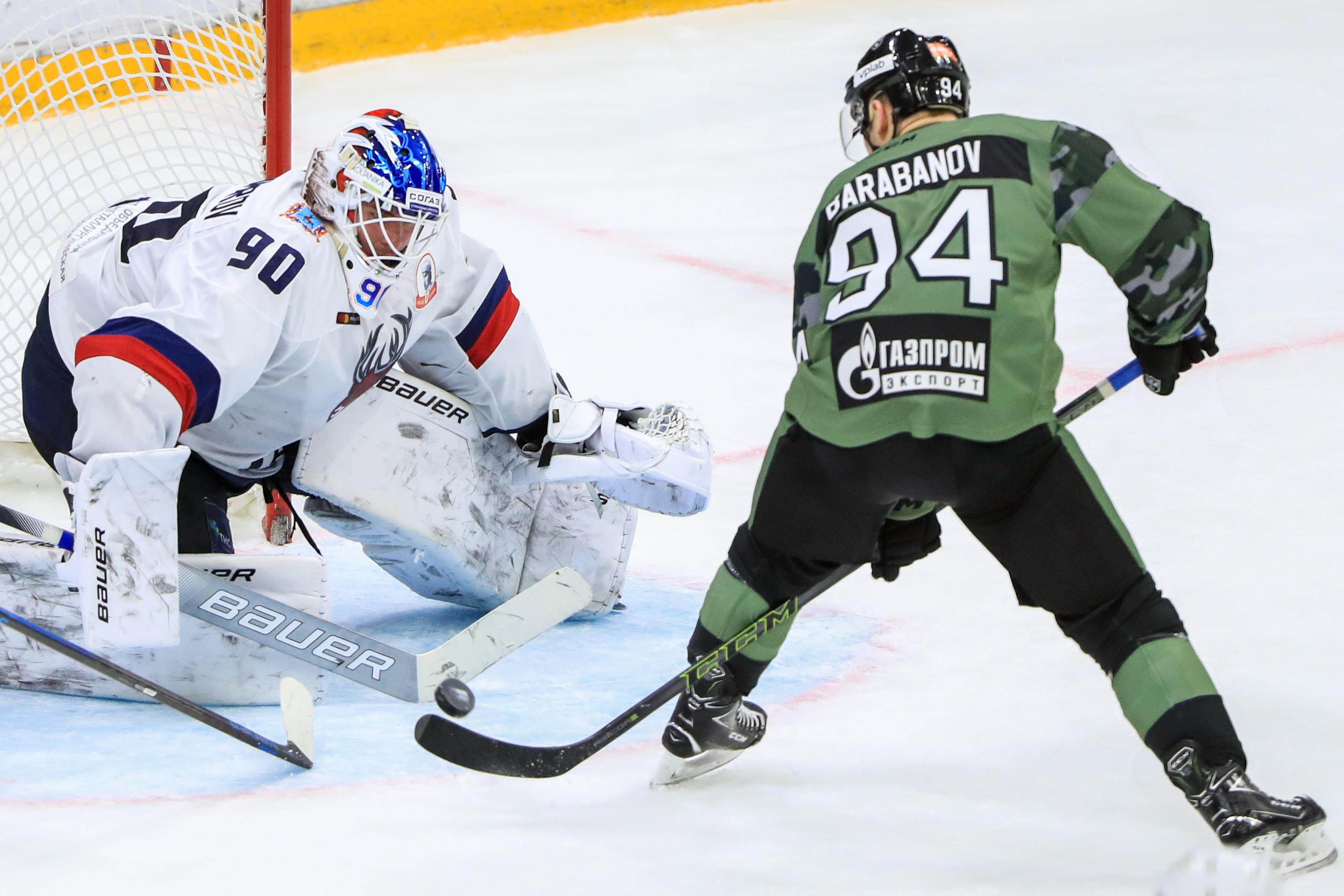 Kontinental Hockey League: SKA St Petersburg 3 - 2 Torpedo Nizhny Novgorod Region