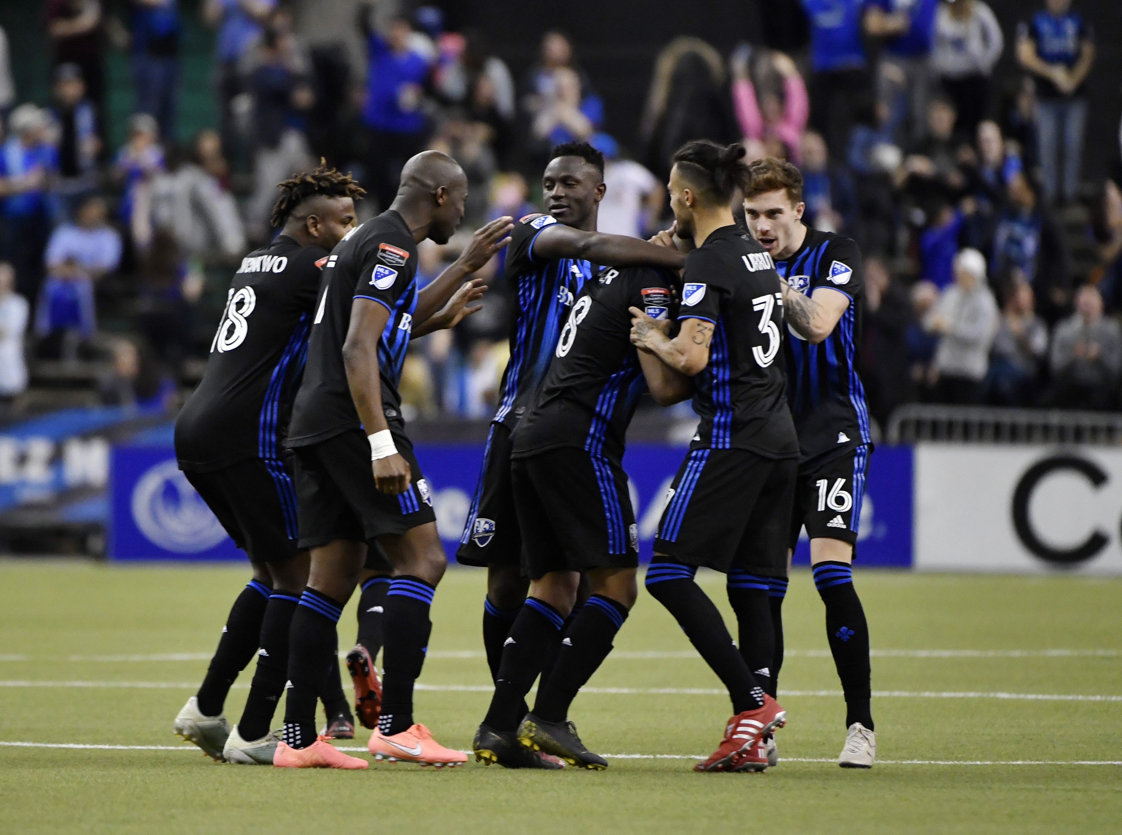 MLS: Champions League Quarterfinal-CD Olimpia at Montreal Impact
