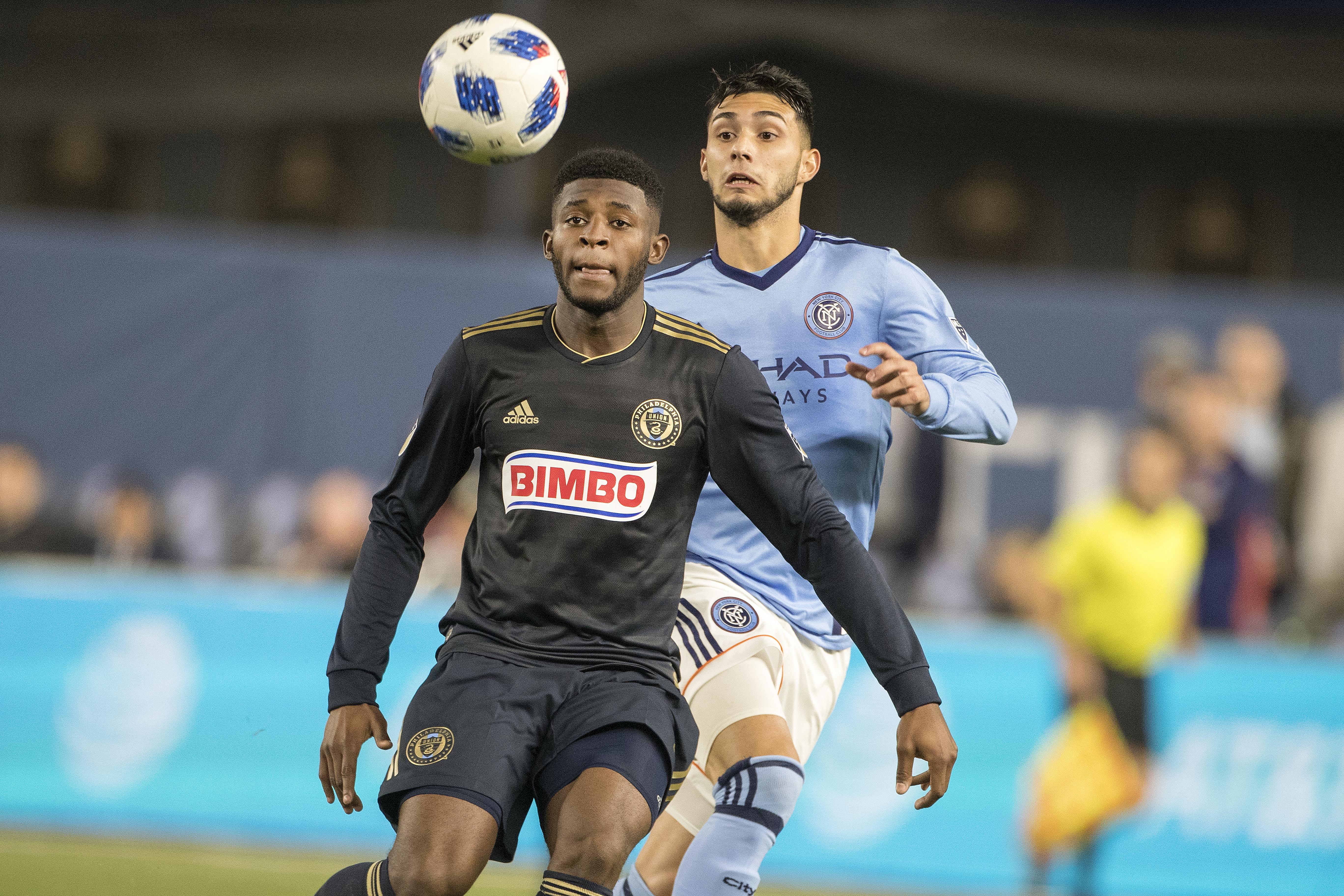 New York City FC Vs Philadelphia Union