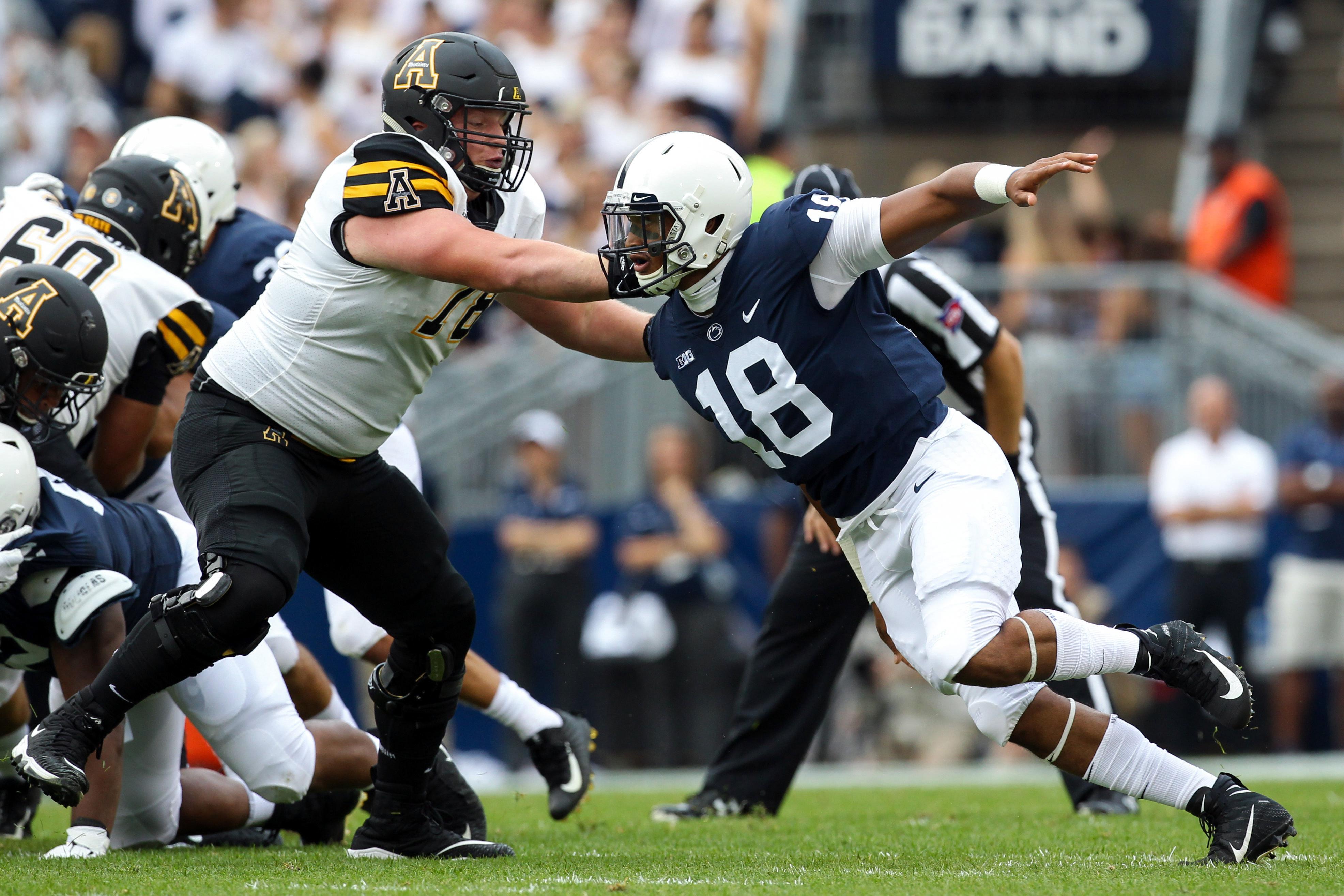 NCAA Football: Appalachian State at Penn State