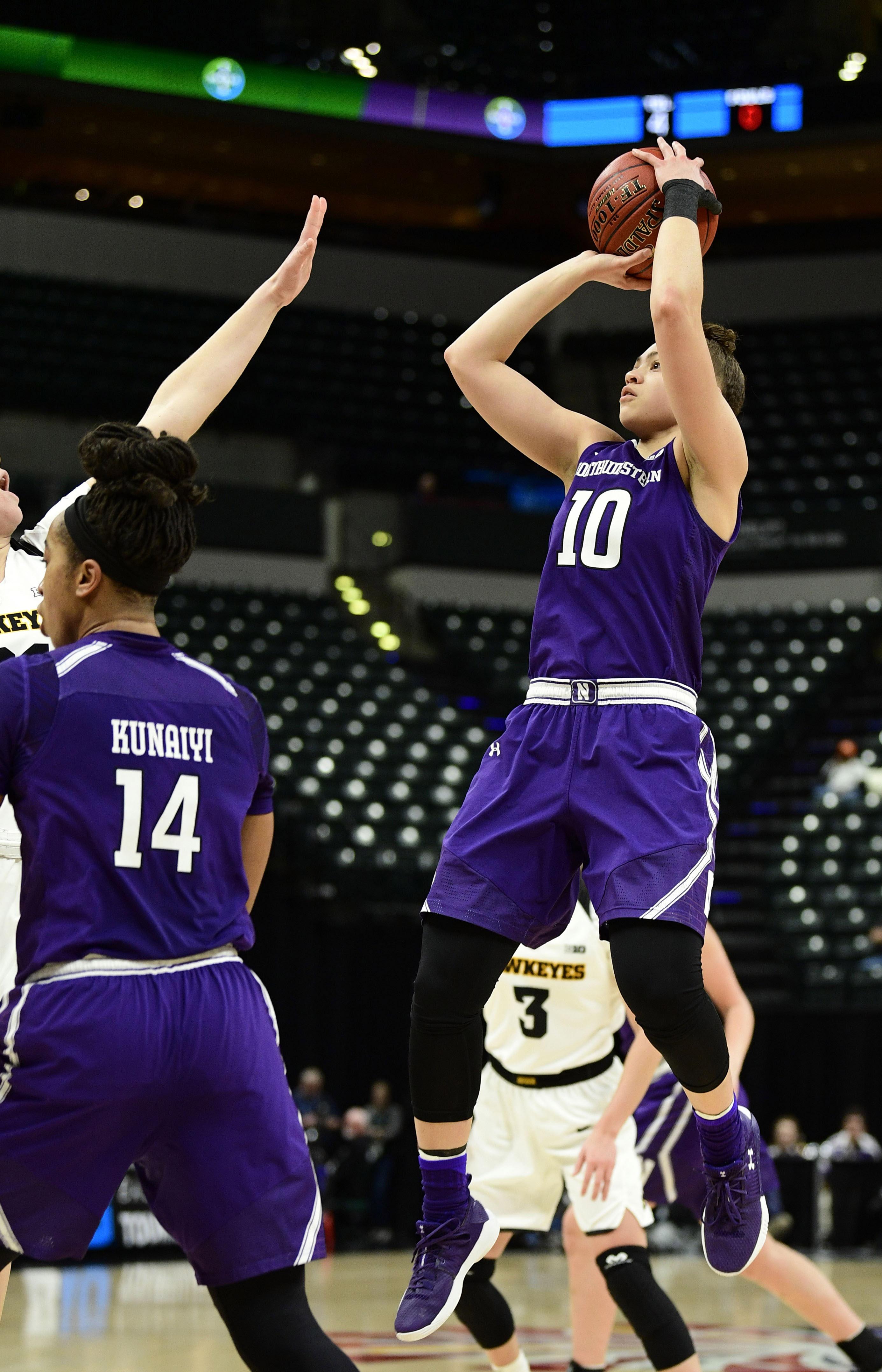 NCAA Womens Basketball: Big Ten Conference Tournament-Iowa vs Northwestern