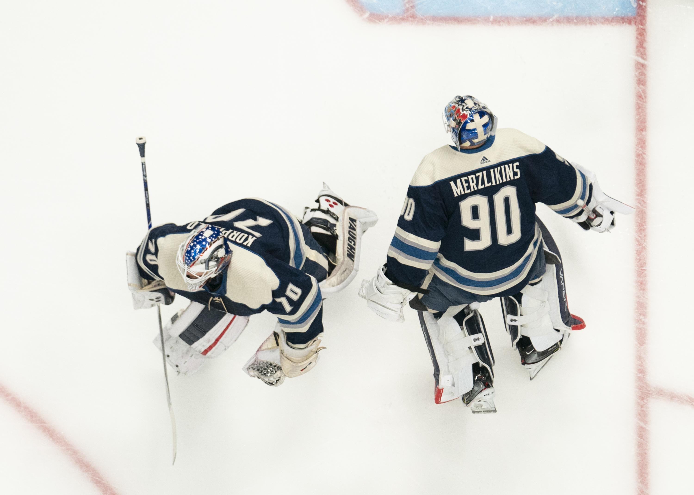 NHL: DEC 29 Blackhawks at Blue Jackets