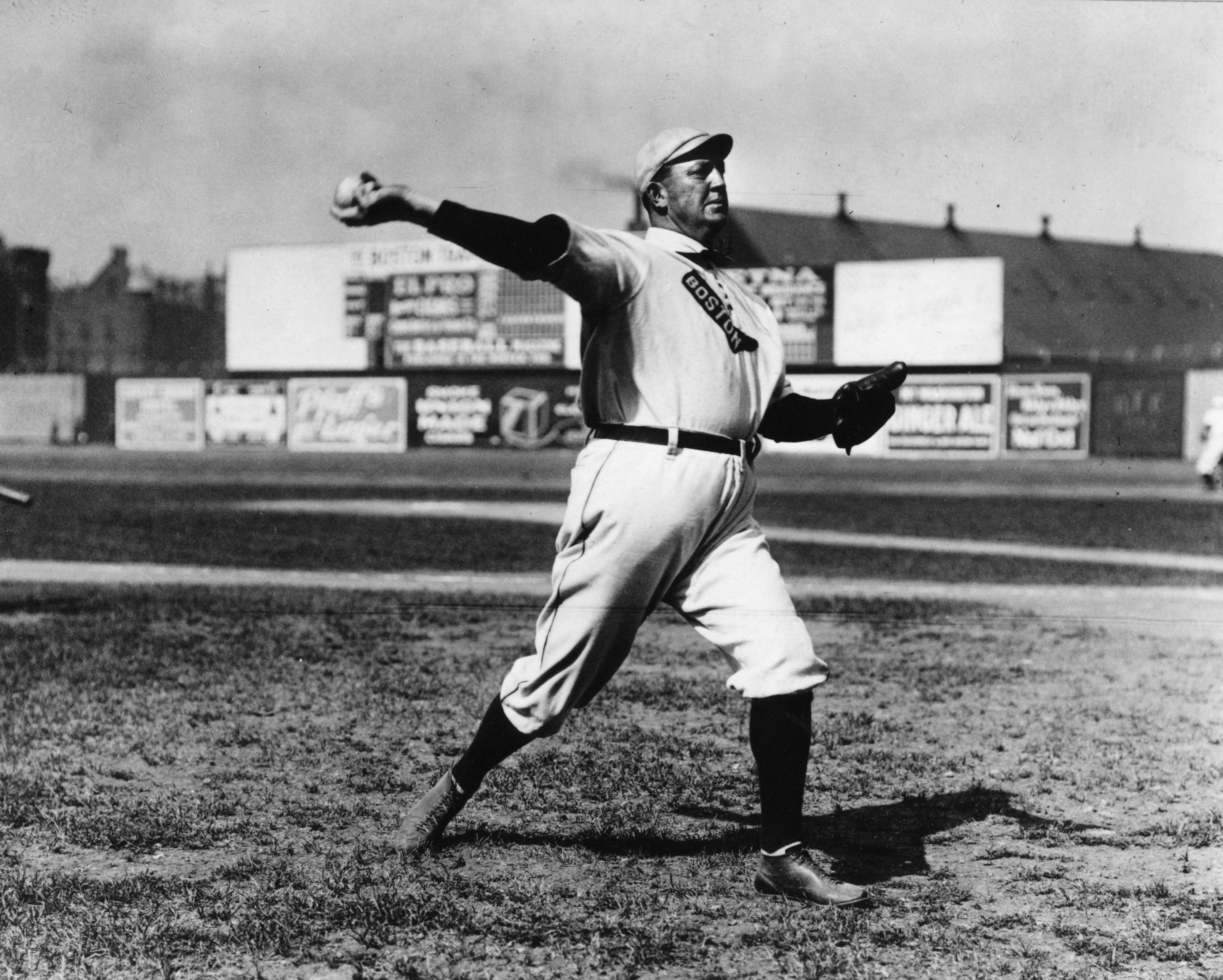 Cy Young Boston Wind Up